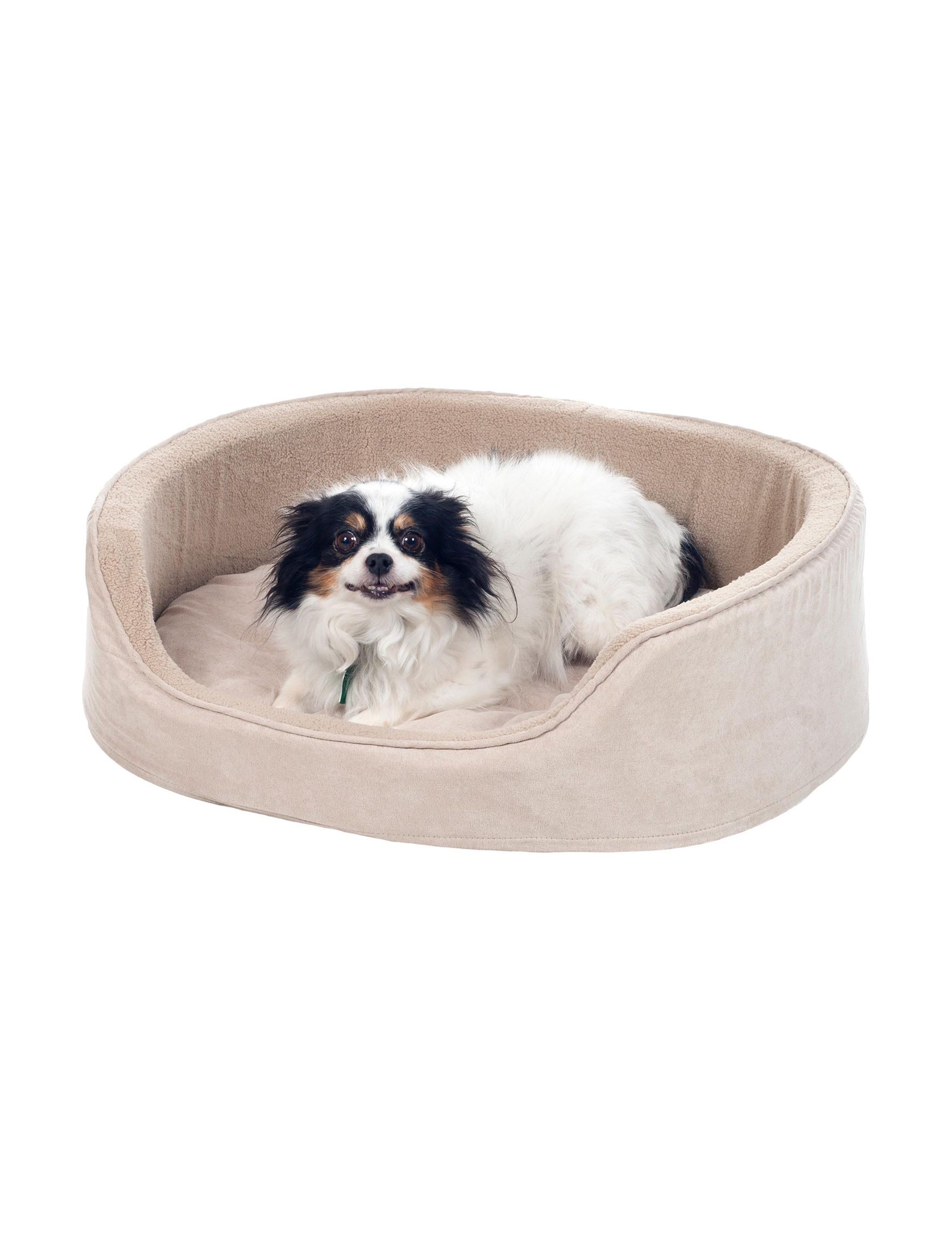 Paw Beige Pet Beds & Houses