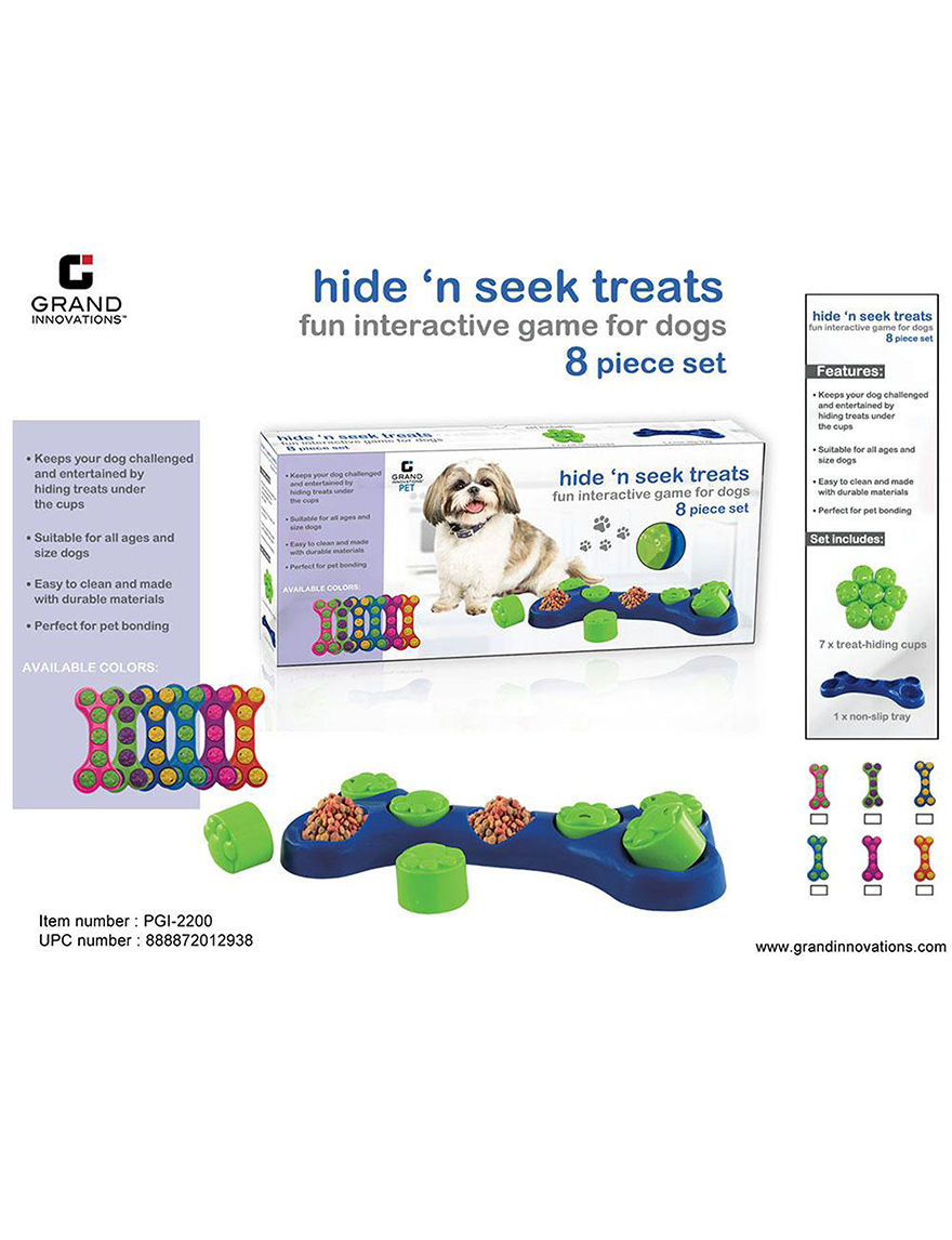 Grand Innovation Red Pet Treats & Toys