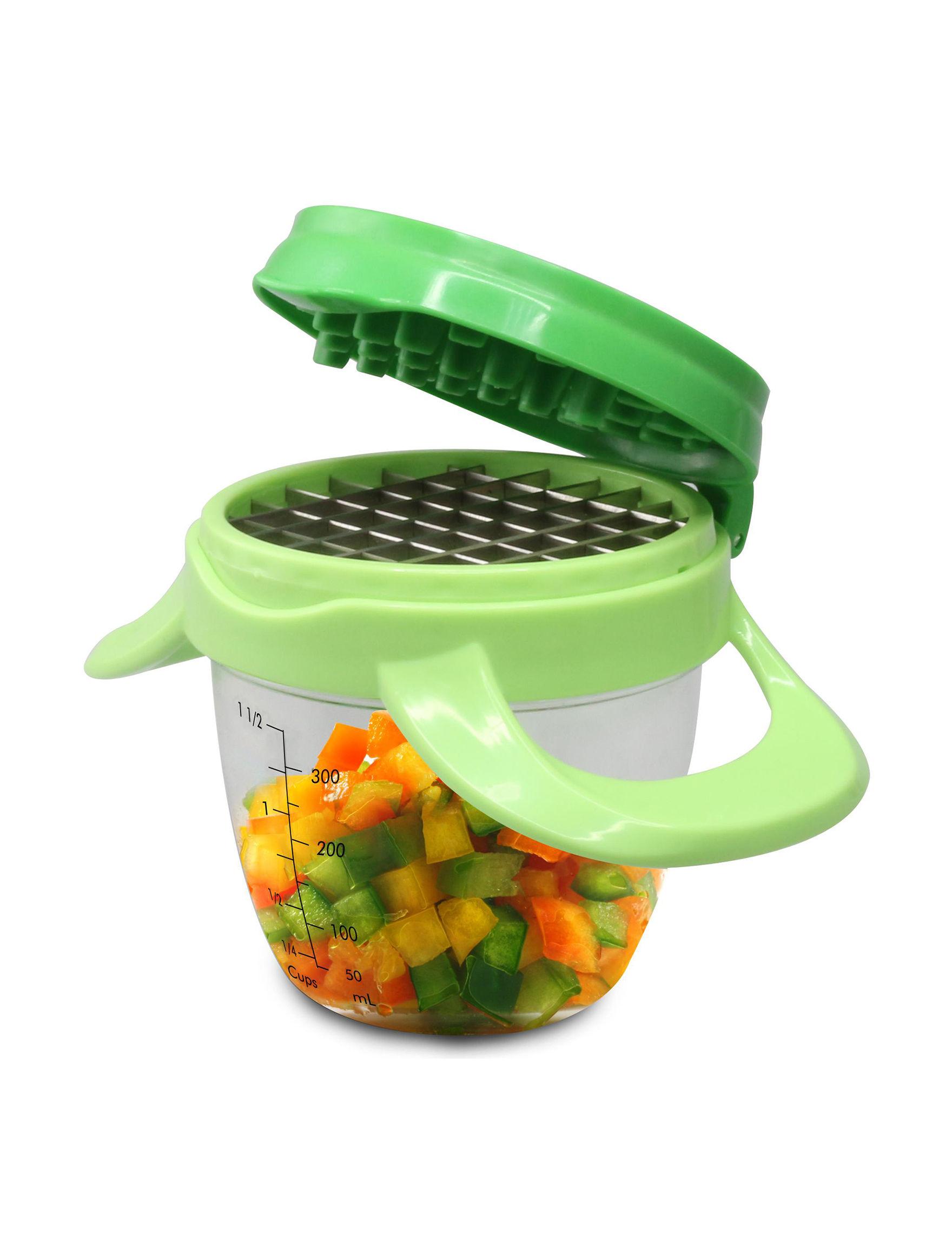 Grand Innovation Green Kitchen Utensils Prep & Tools