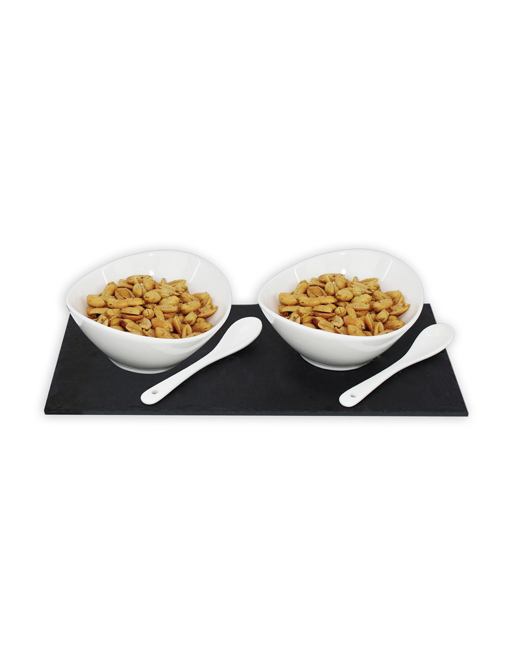 Grand Innovation White Dip & Condiment Bowls Serveware