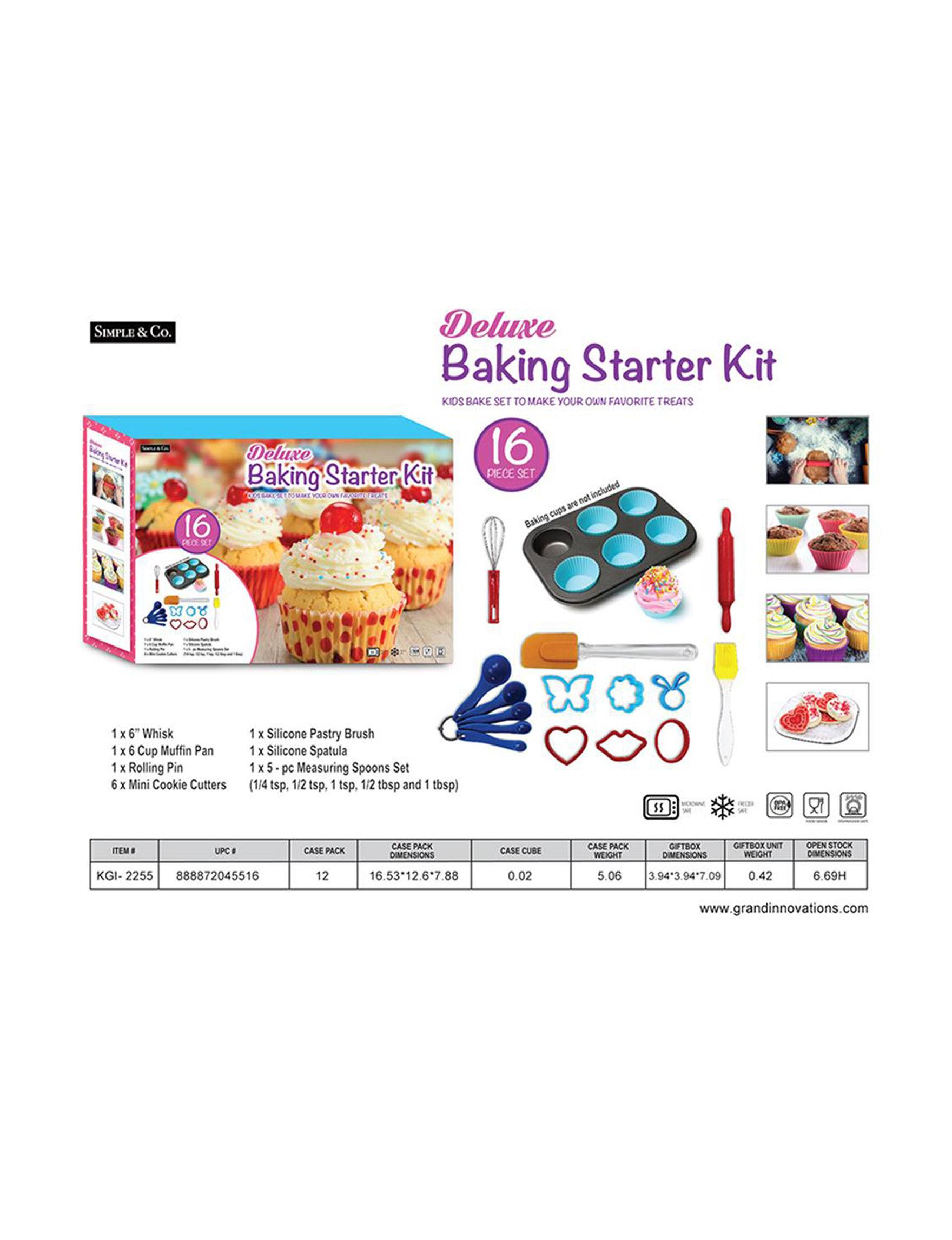 Grand Innovation Multi Baking & Decorating Tools Prep & Tools