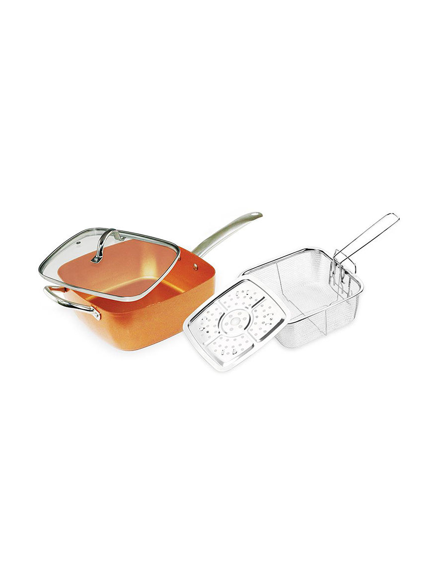 Grand Innovation Copper Frying Pans & Skillets Cookware