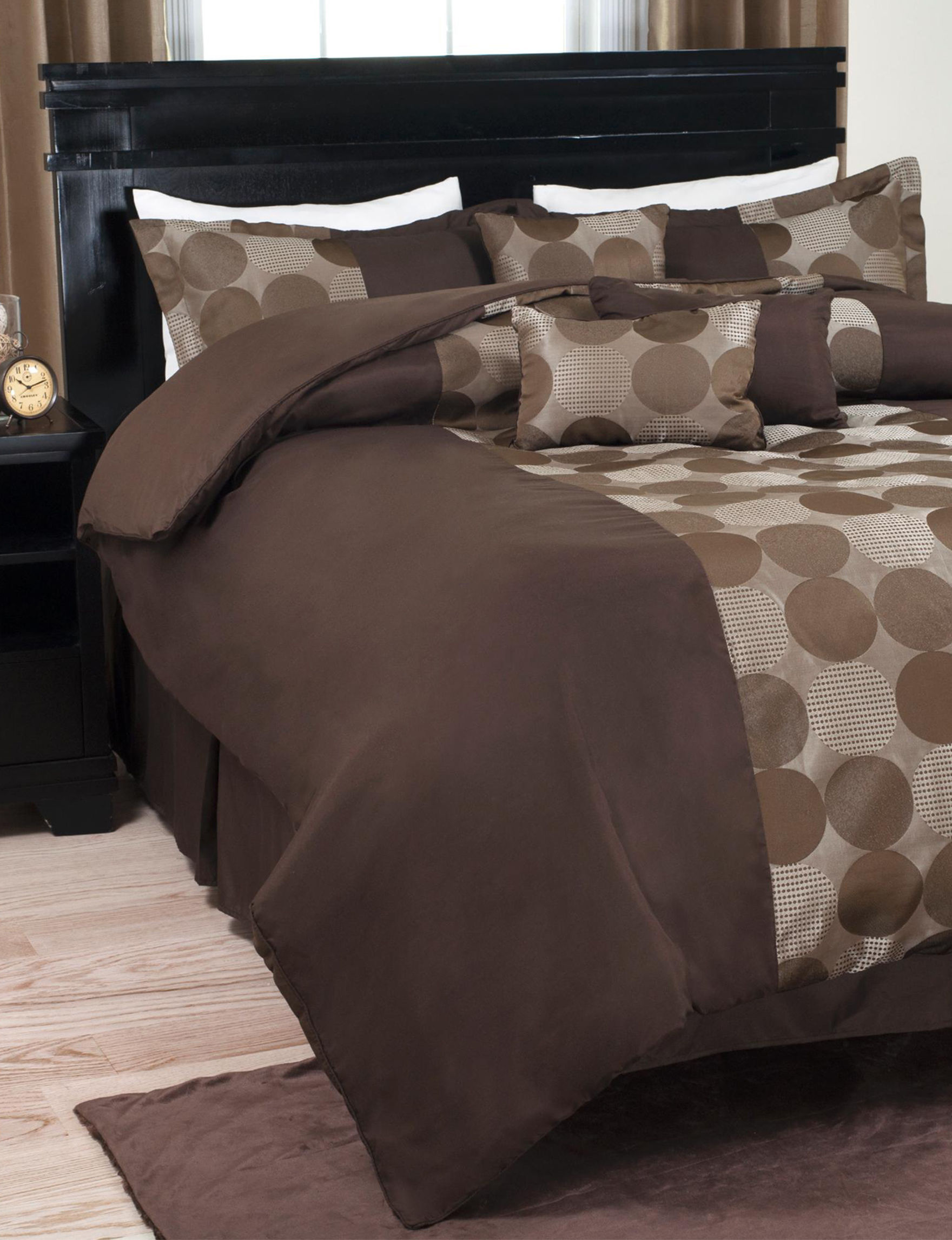 Lavish Home Brown/Tan Comforters & Comforter Sets
