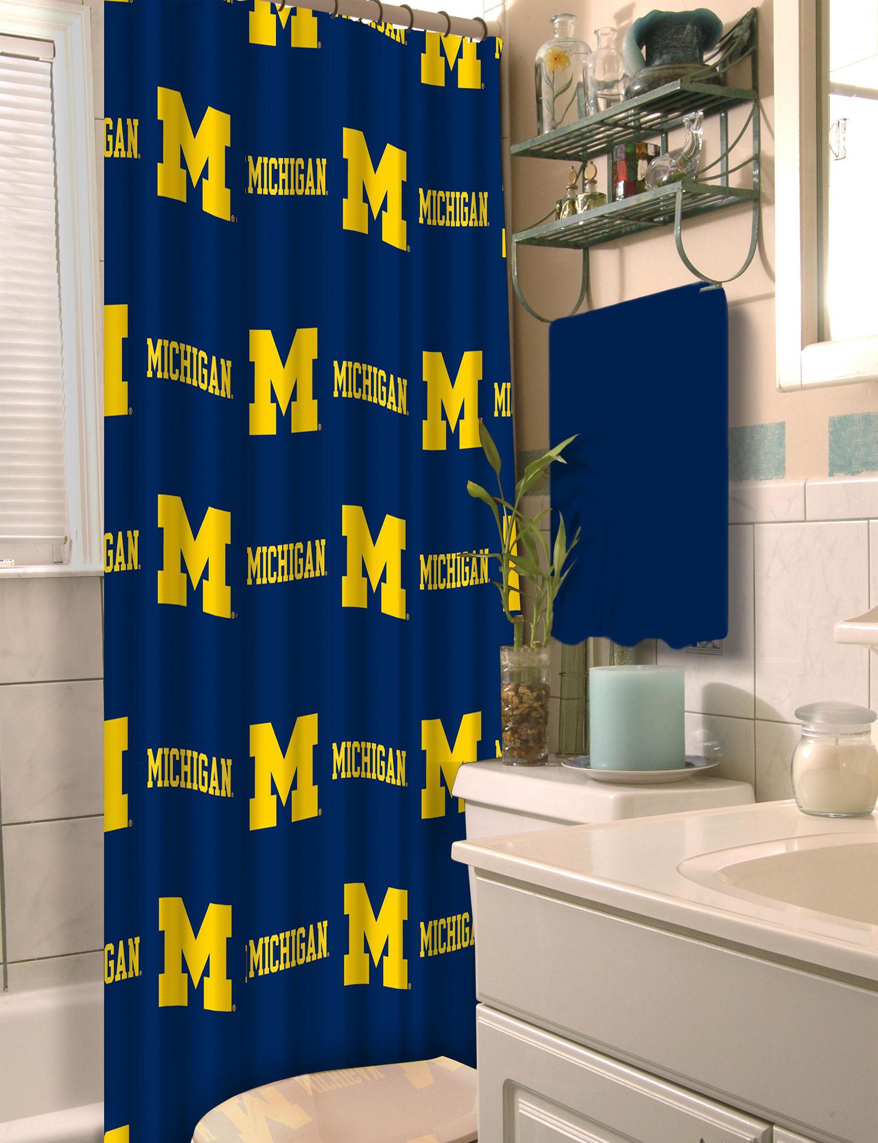 University Of Michigan Shower Curtain