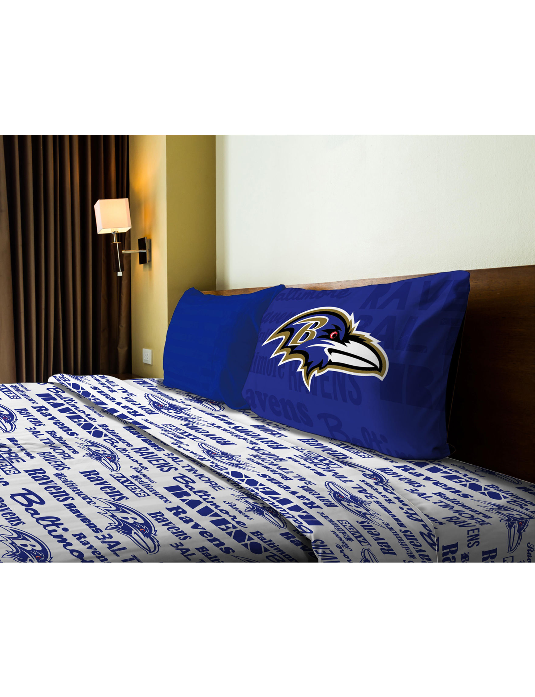 The Northwest Company Blue / Multi Sheets & Pillowcases