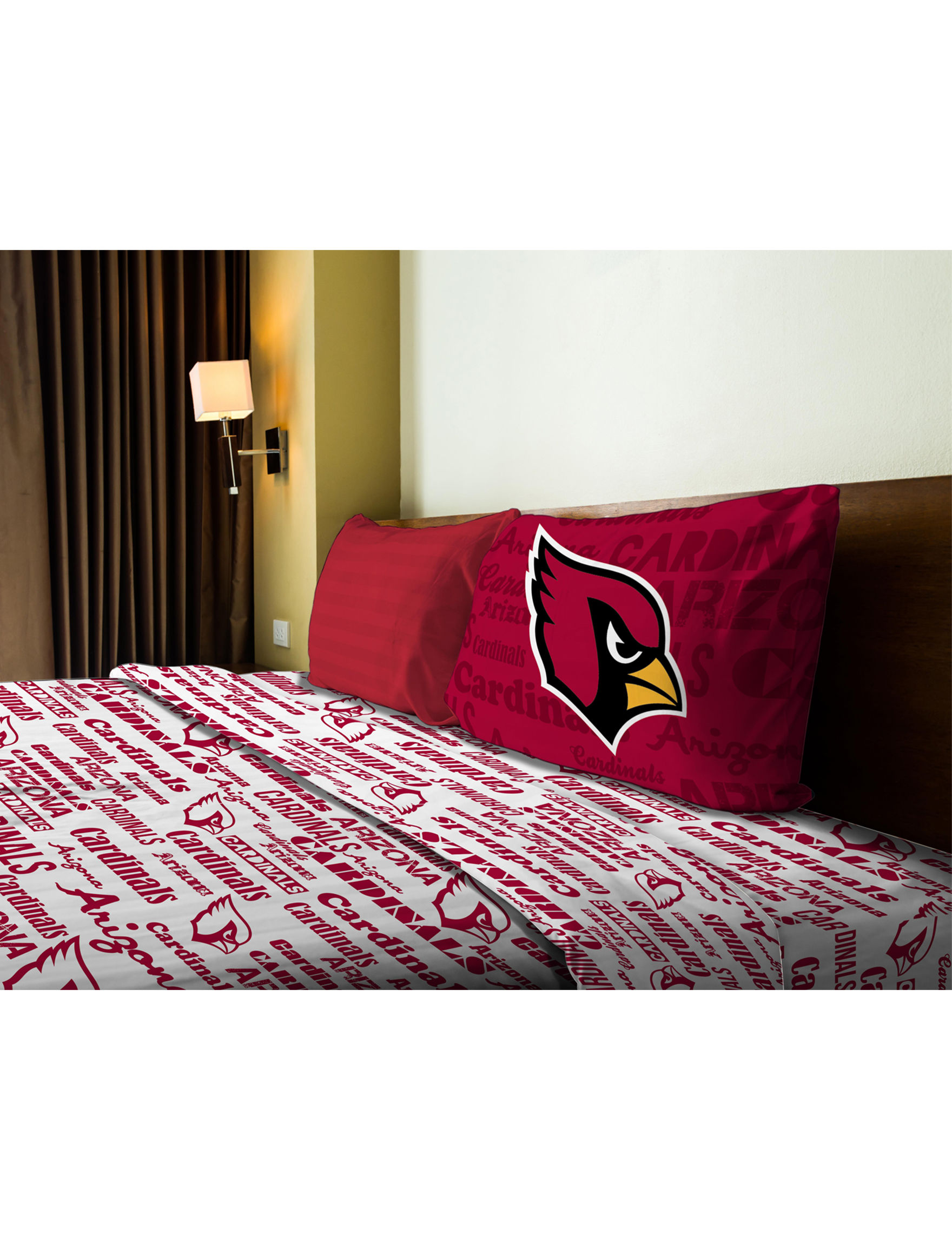 The Northwest Company Red Multi Sheets & Pillowcases