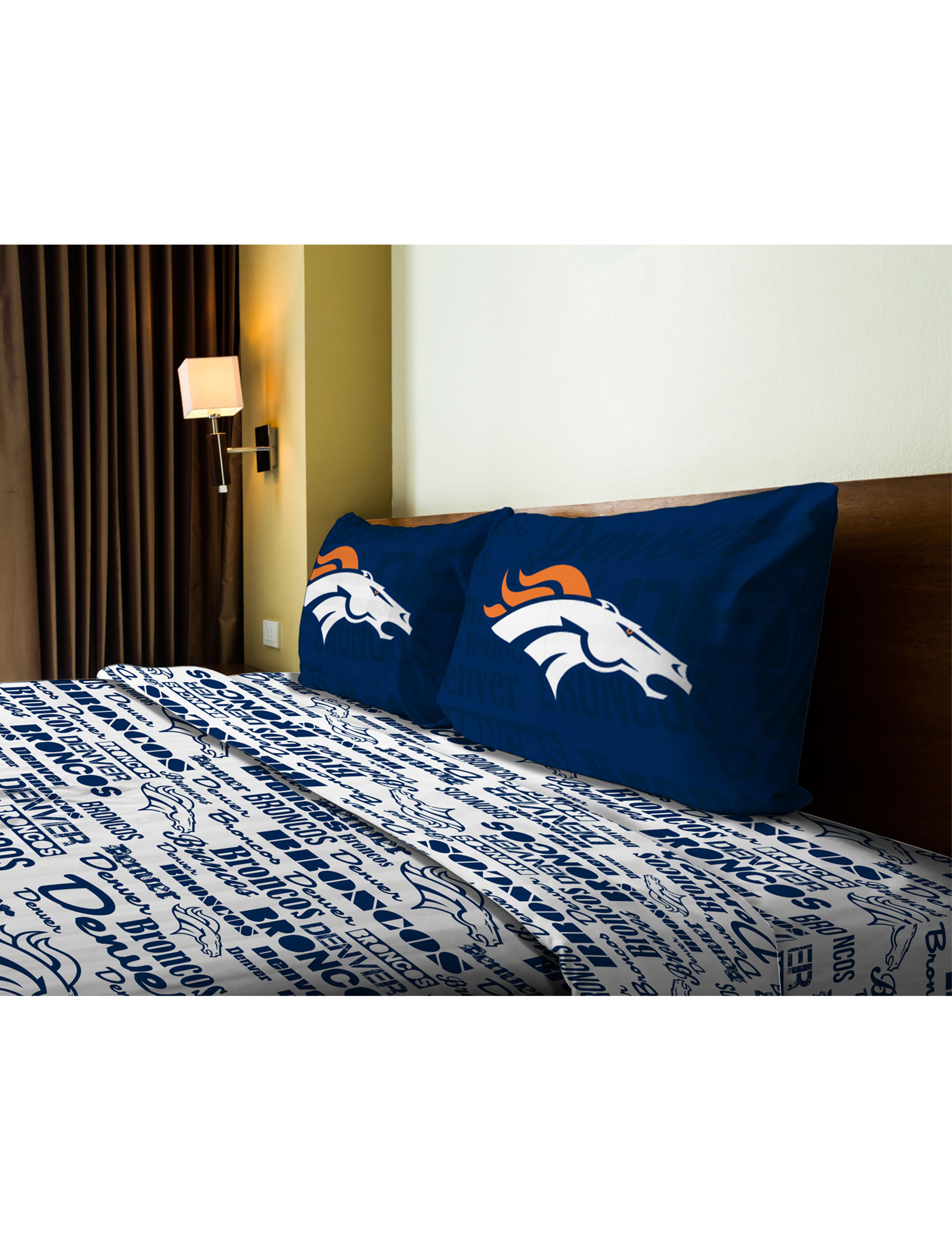 The Northwest Company Navy / Multi Sheets & Pillowcases