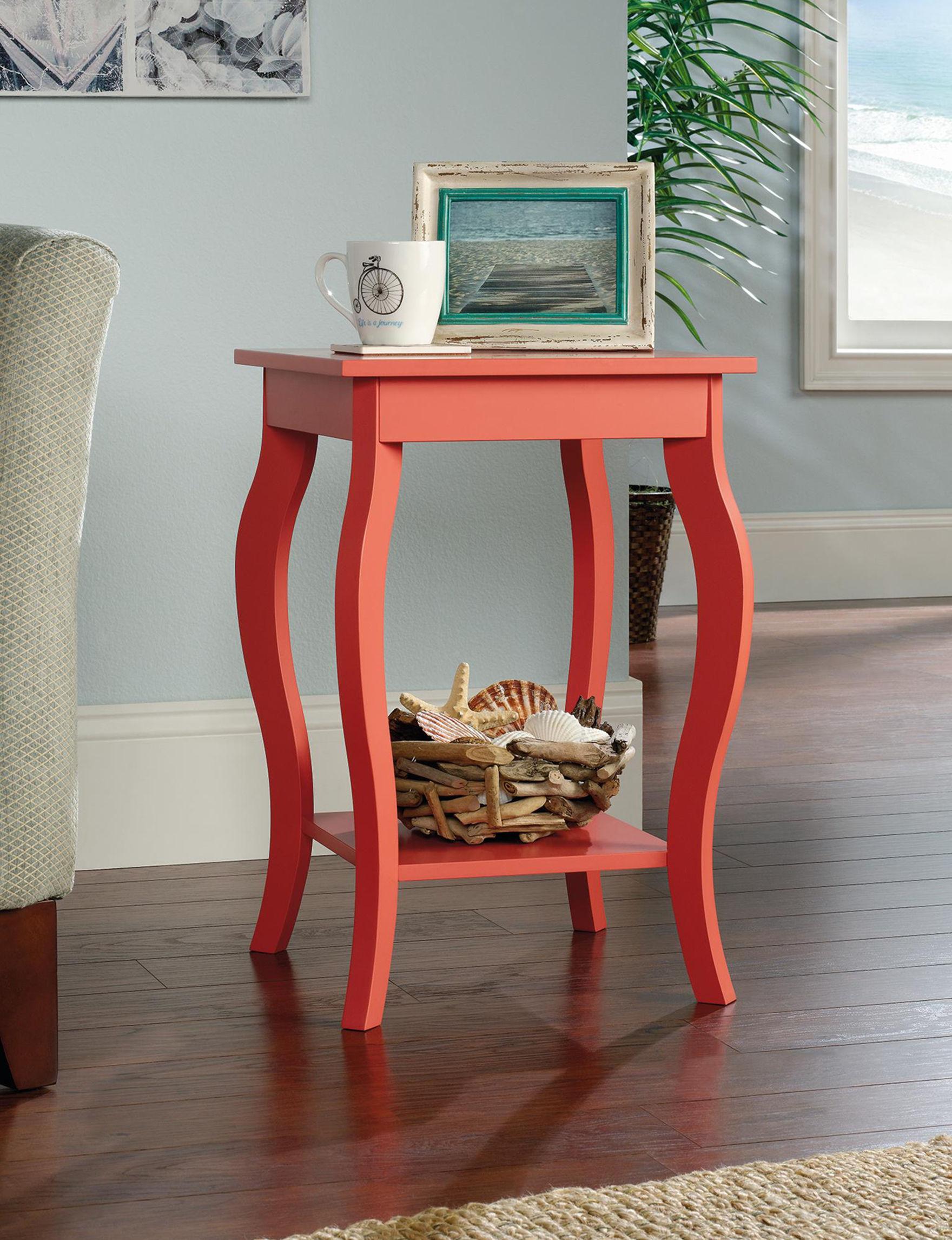 Sauder Coral Accent & End Tables Living Room Furniture
