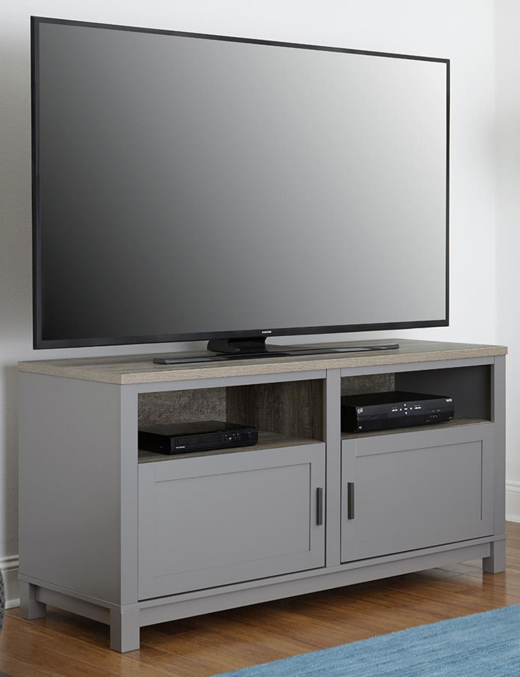 Ameriwood Grey TV Stands & Entertainment Centers Living Room Furniture