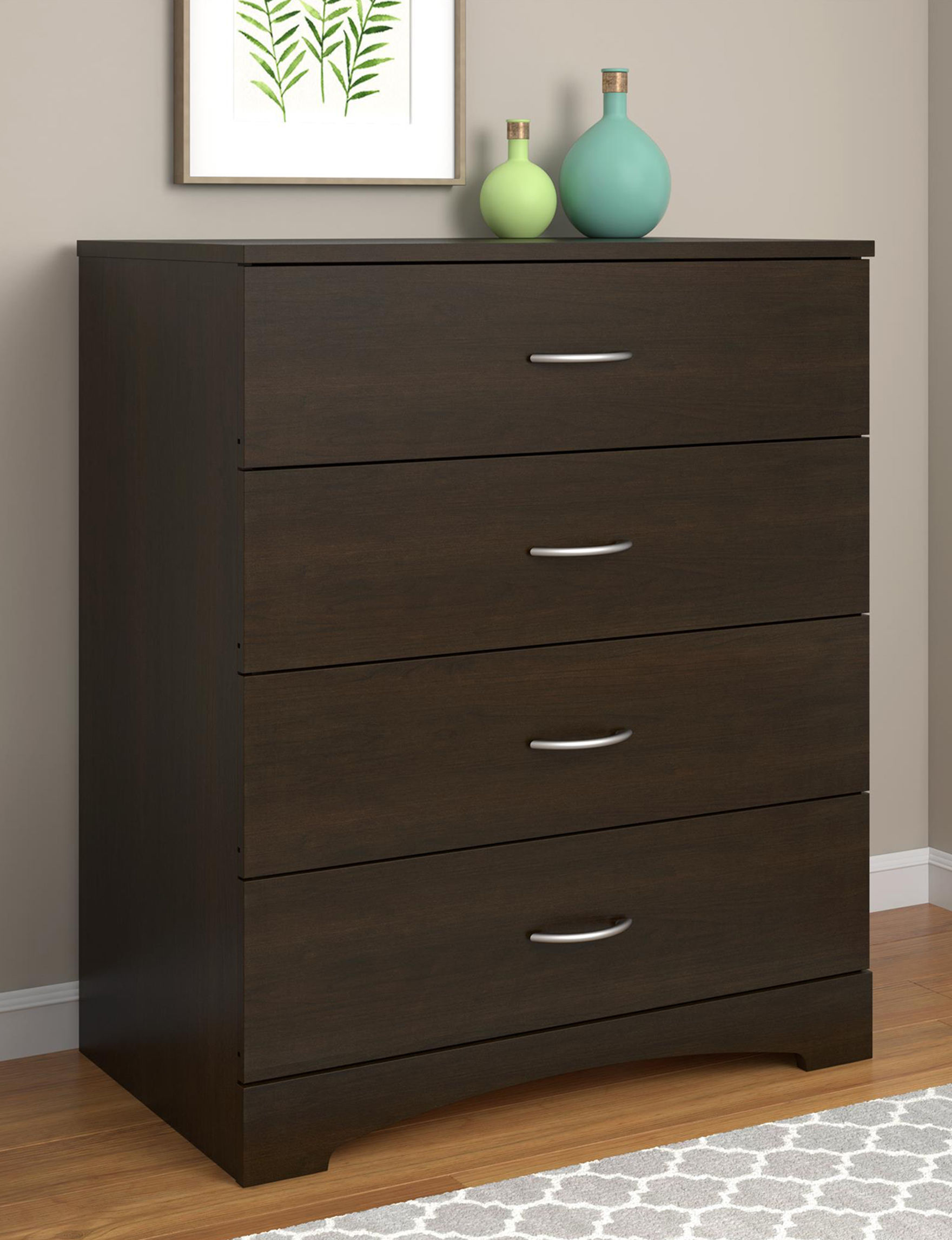 Ameriwood Espresso Dressers & Chests Bedroom Furniture