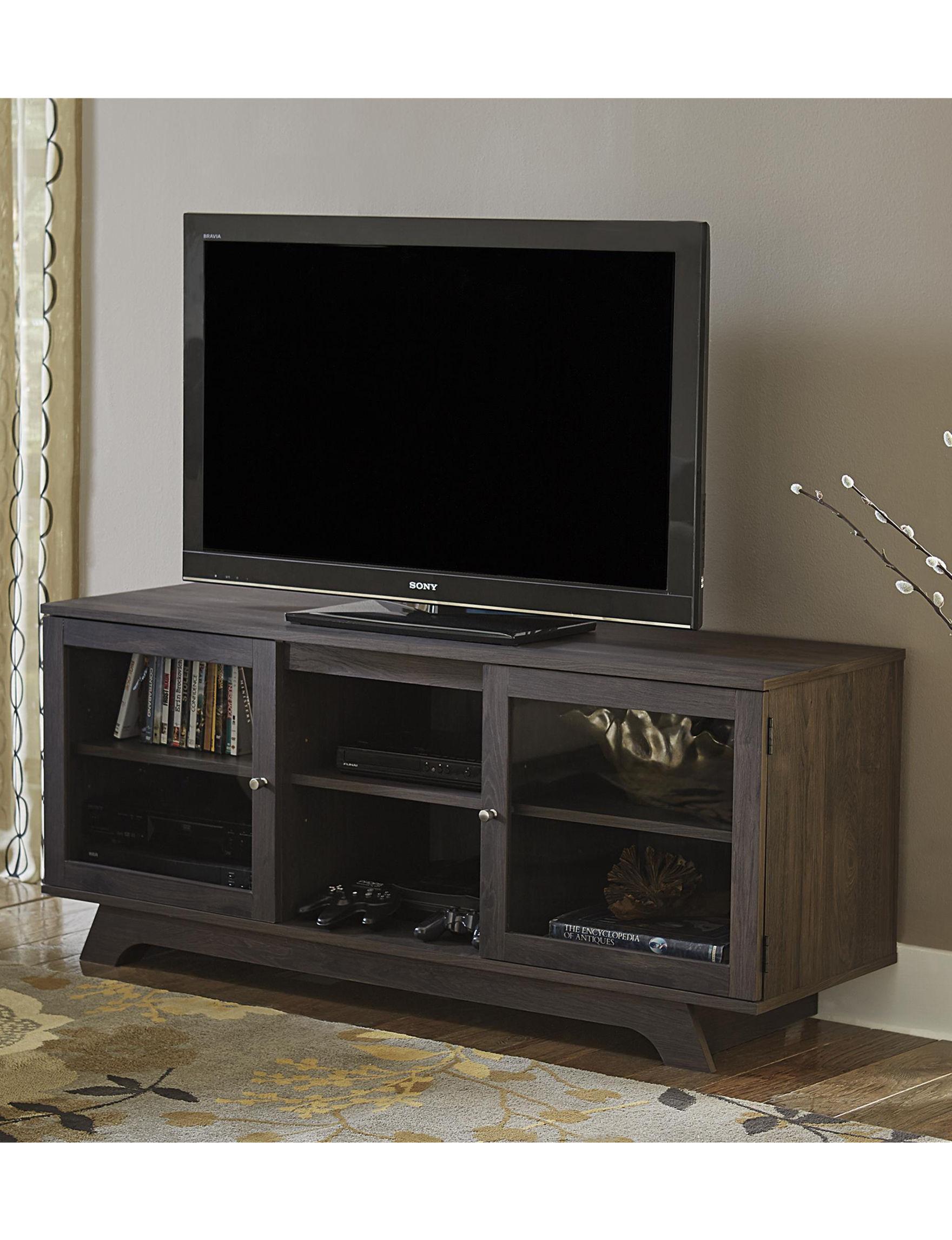 Ameriwood Dark Grey TV Stands & Entertainment Centers Living Room Furniture