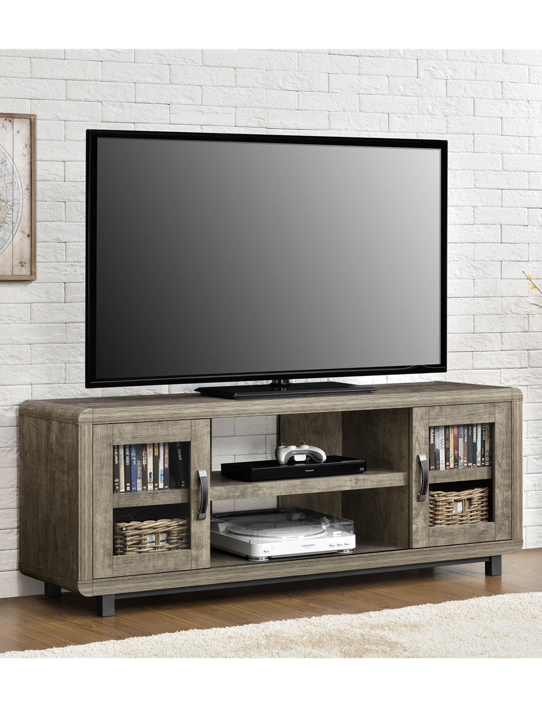 Ameriwood Brown TV Stands & Entertainment Centers Living Room Furniture