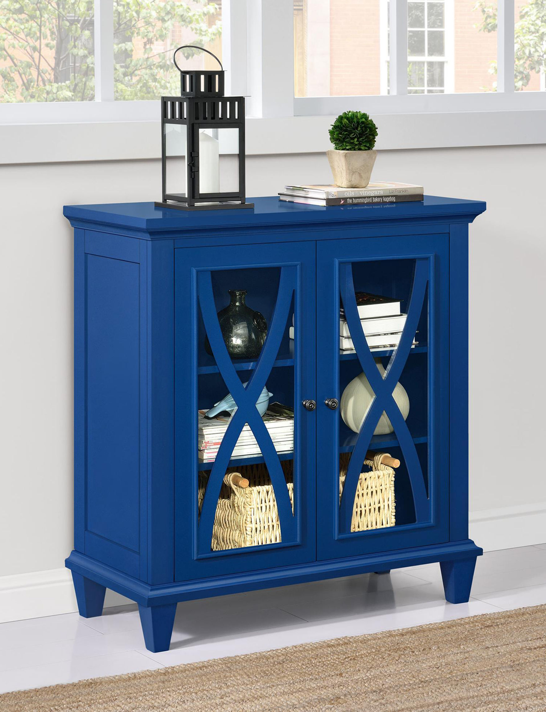 Ameriwood Blue Cabinets & Cupboards Living Room Furniture