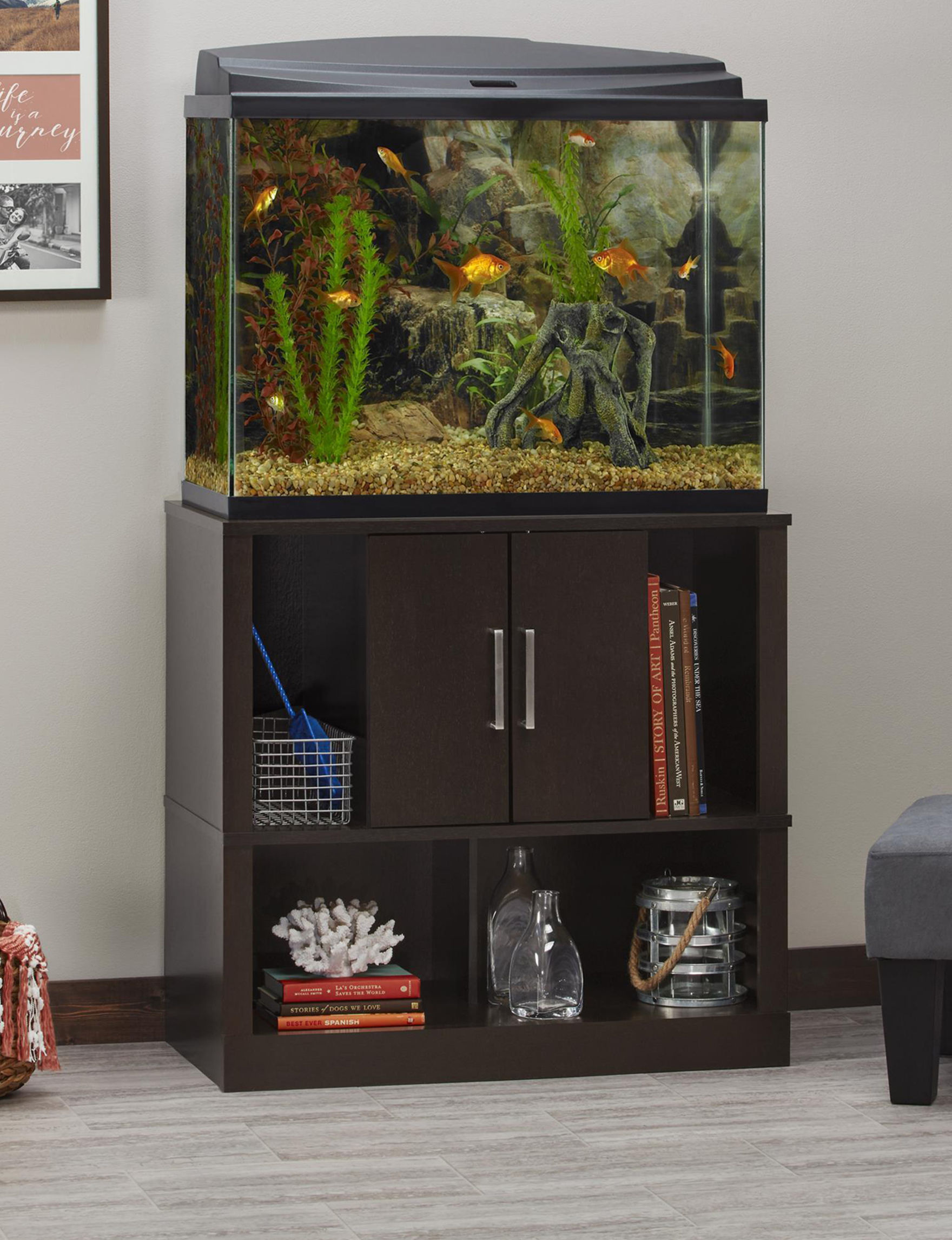 Ameriwood Espresso Home Accents Living Room Furniture