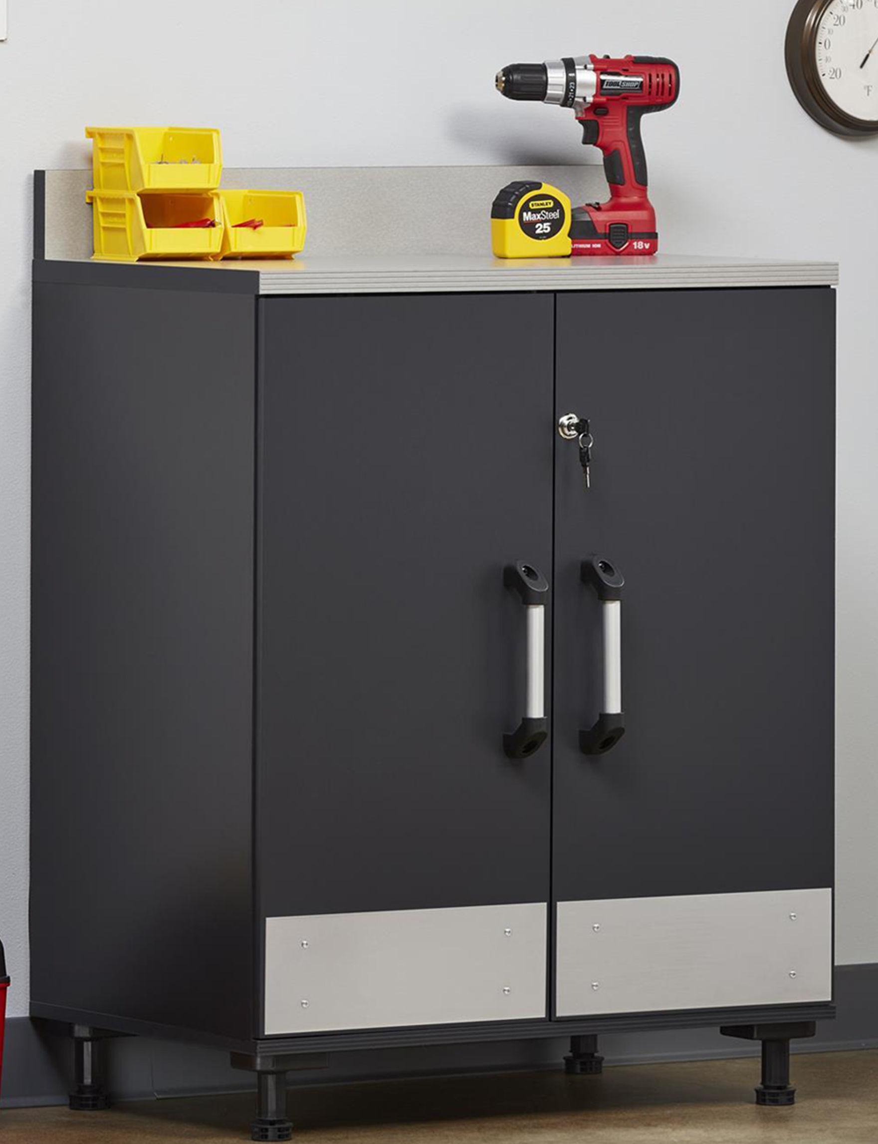 Ameriwood Grey Cabinets & Cupboards Patio & Outdoor Furniture