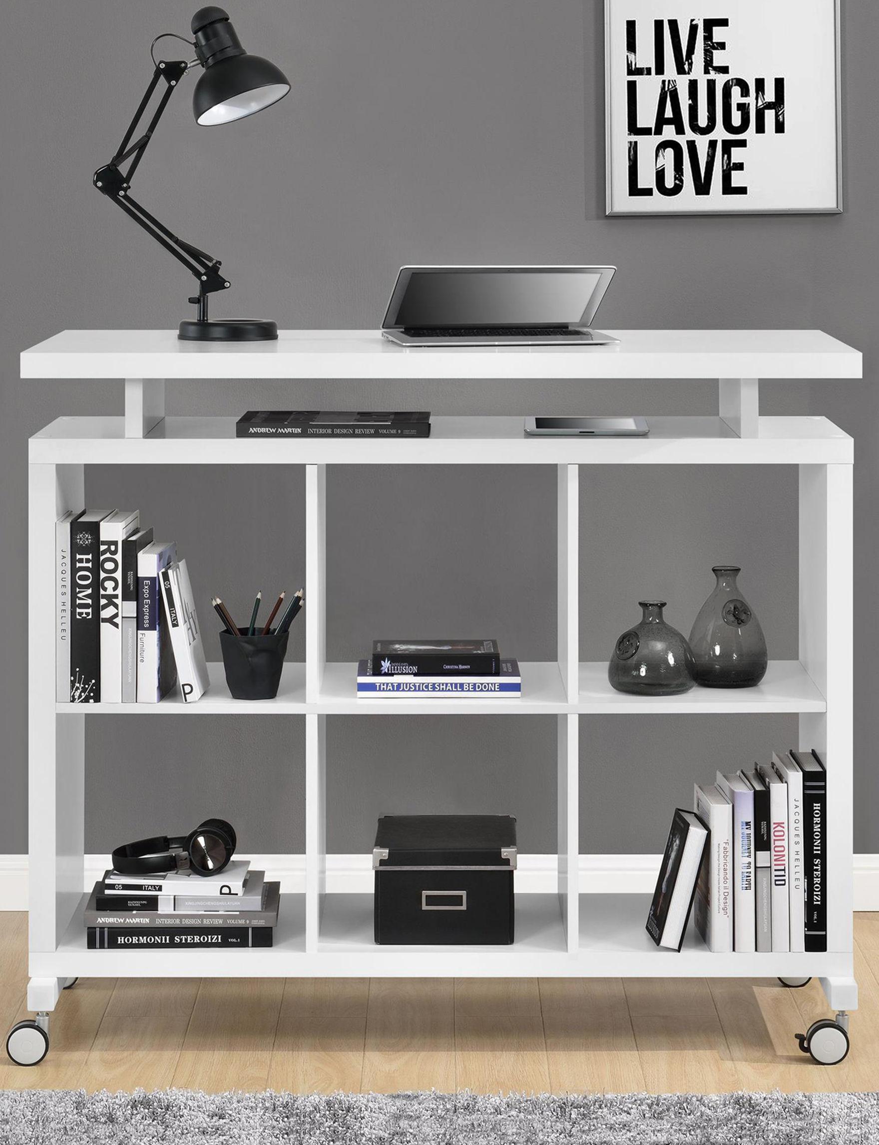 Ameriwood White Desks Home Office Furniture Living Room Furniture