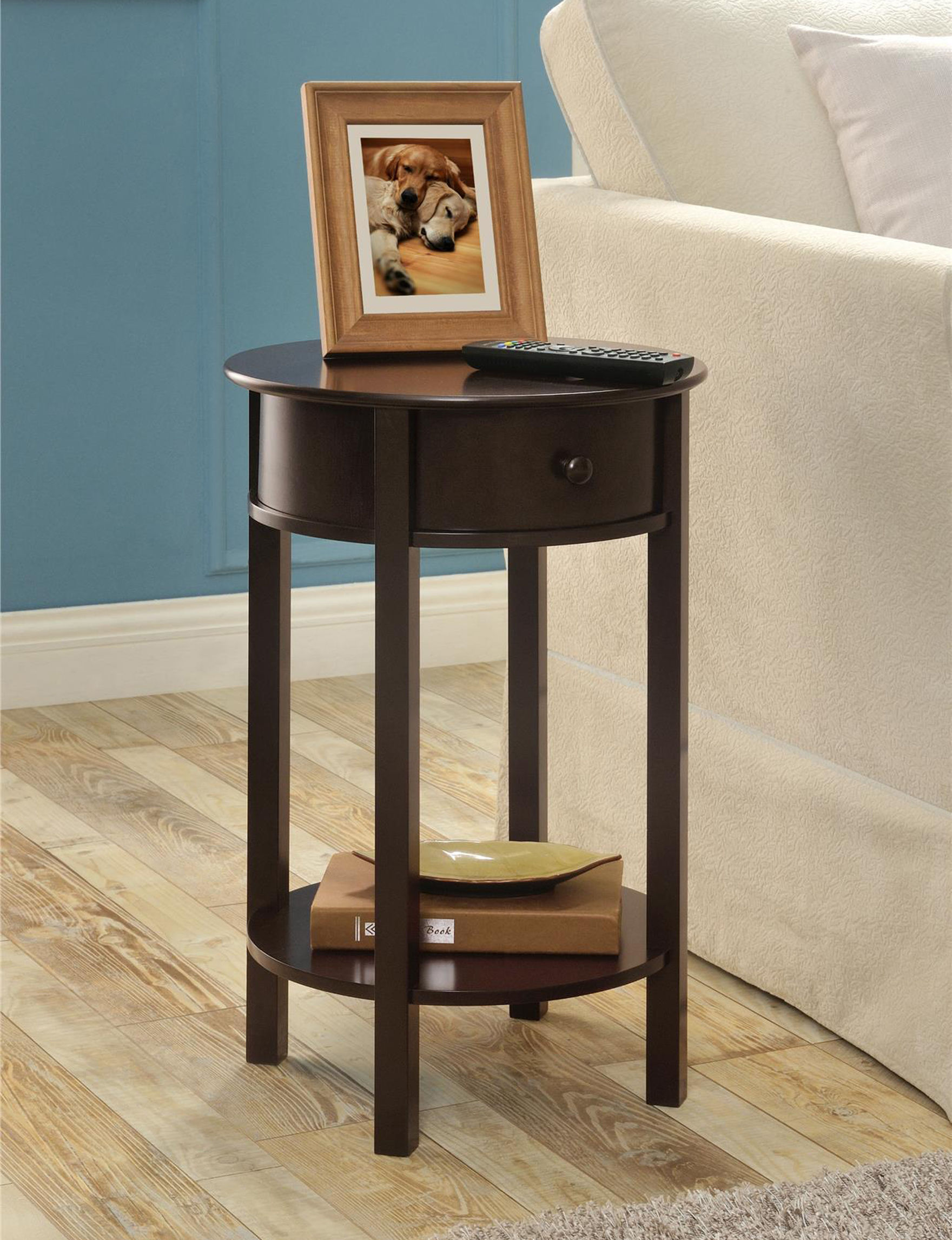Ameriwood Espresso Accent & End Tables Living Room Furniture
