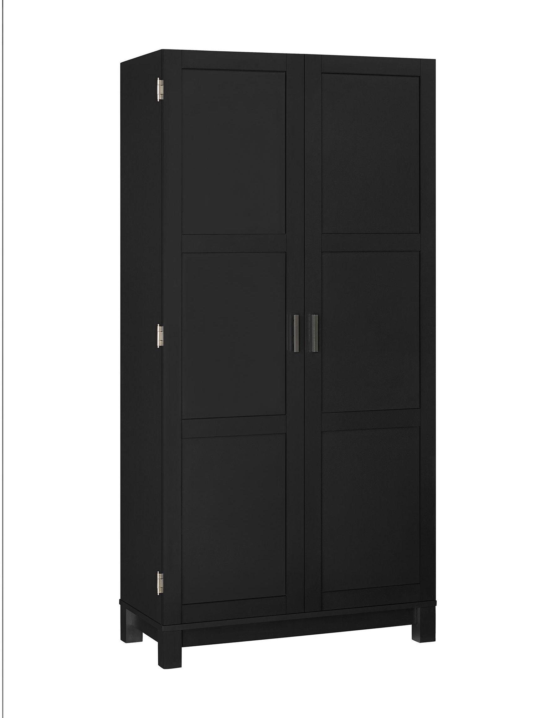 Ameriwood Black Cabinets & Cupboards Living Room Furniture