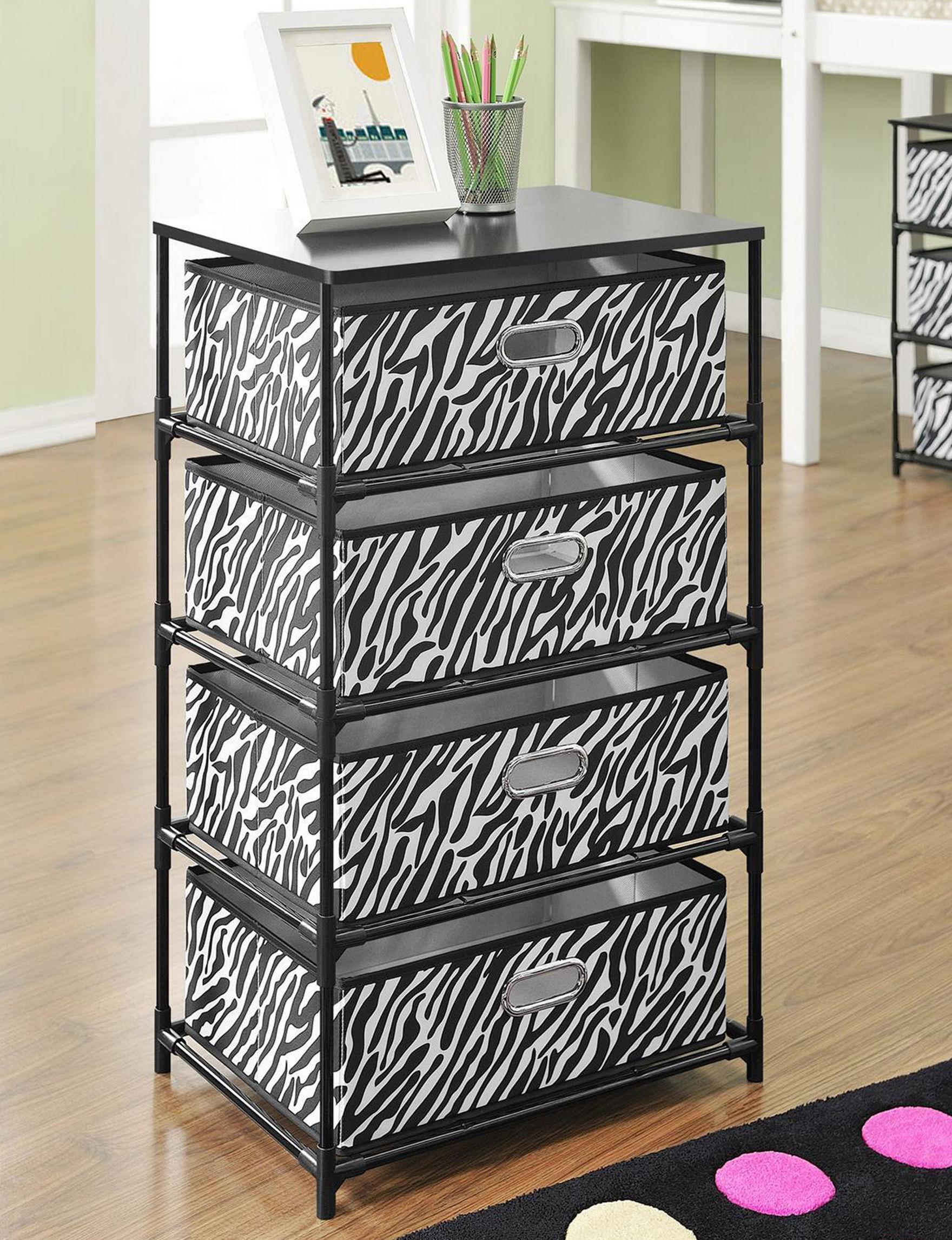Ameriwood Zebra Accent & End Tables Living Room Furniture