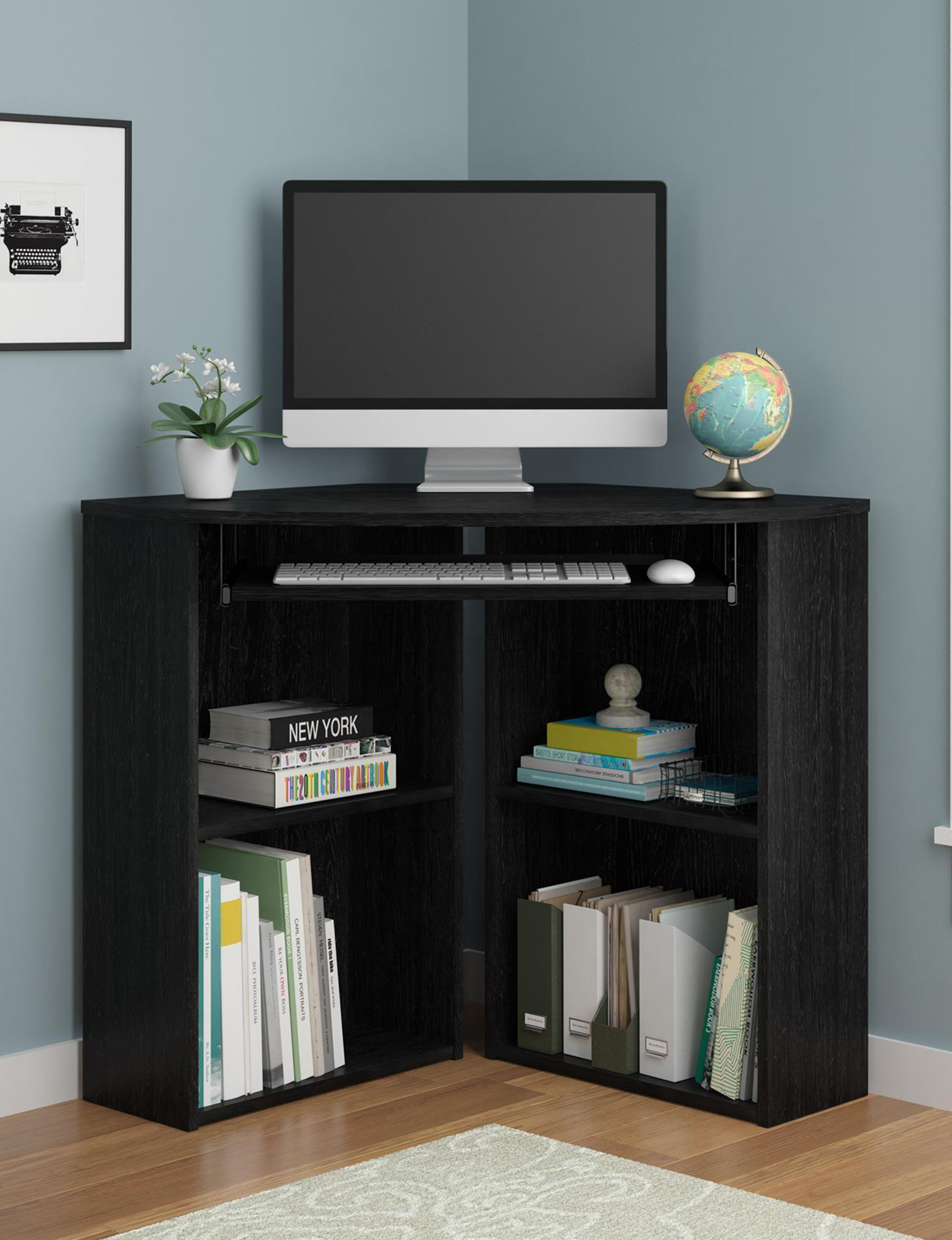 Ameriwood Black Desks Home Office Furniture