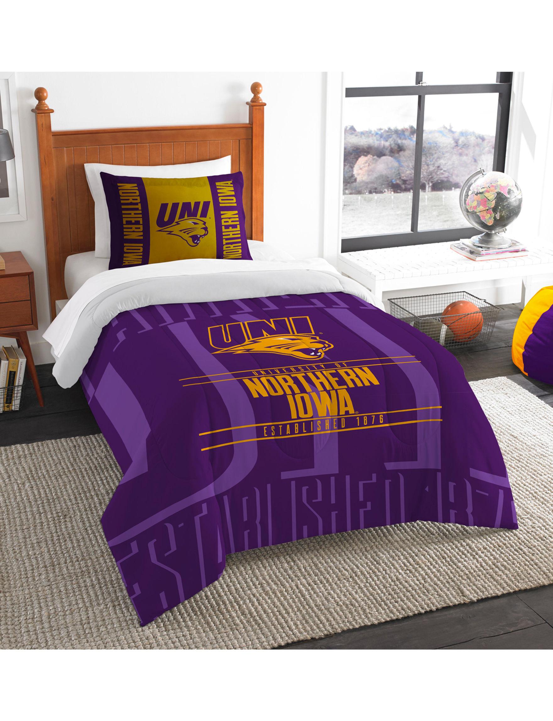 The Northwest Company Purple / Gold Comforters & Comforter Sets