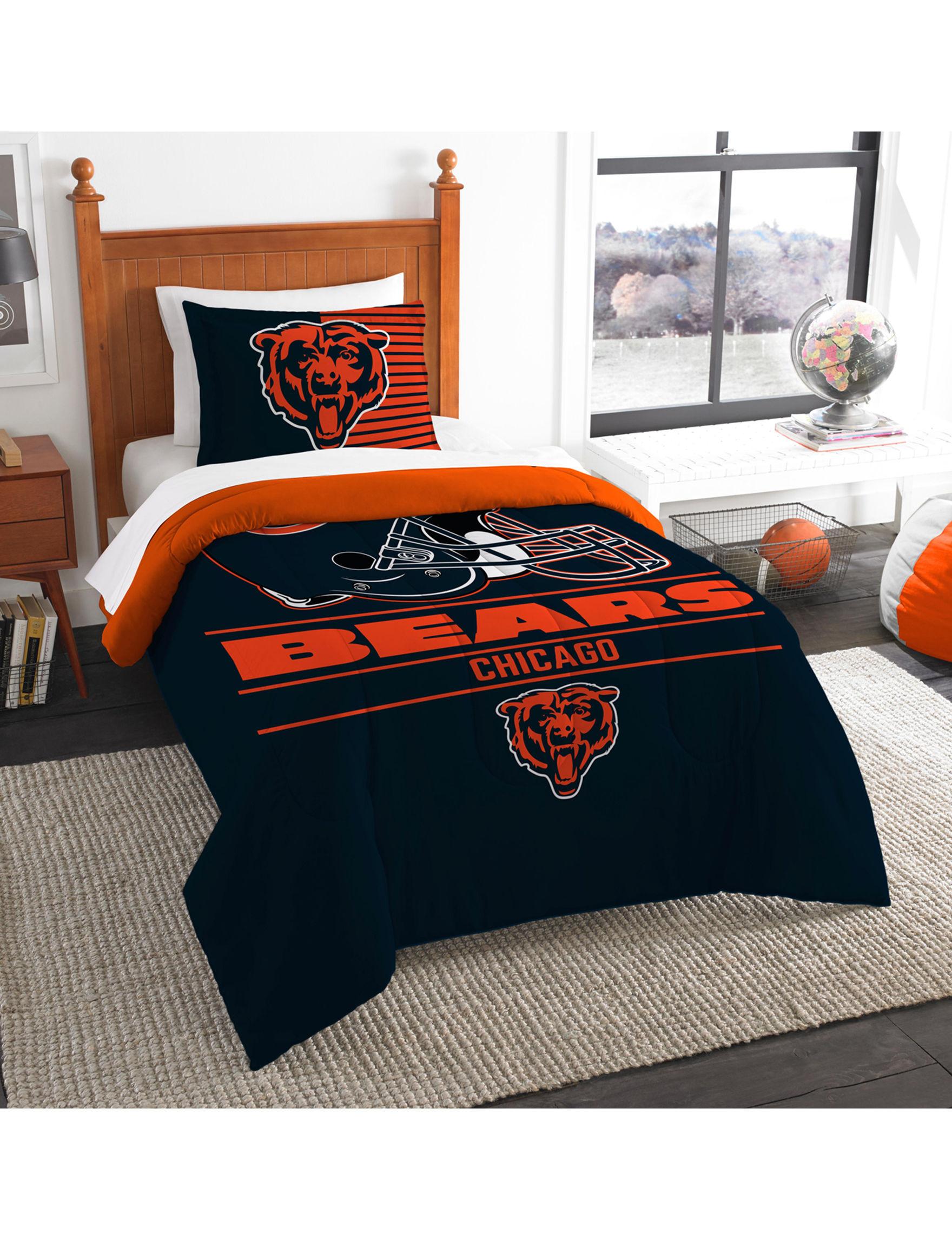 The Northwest Company Orange / Black Comforters & Comforter Sets