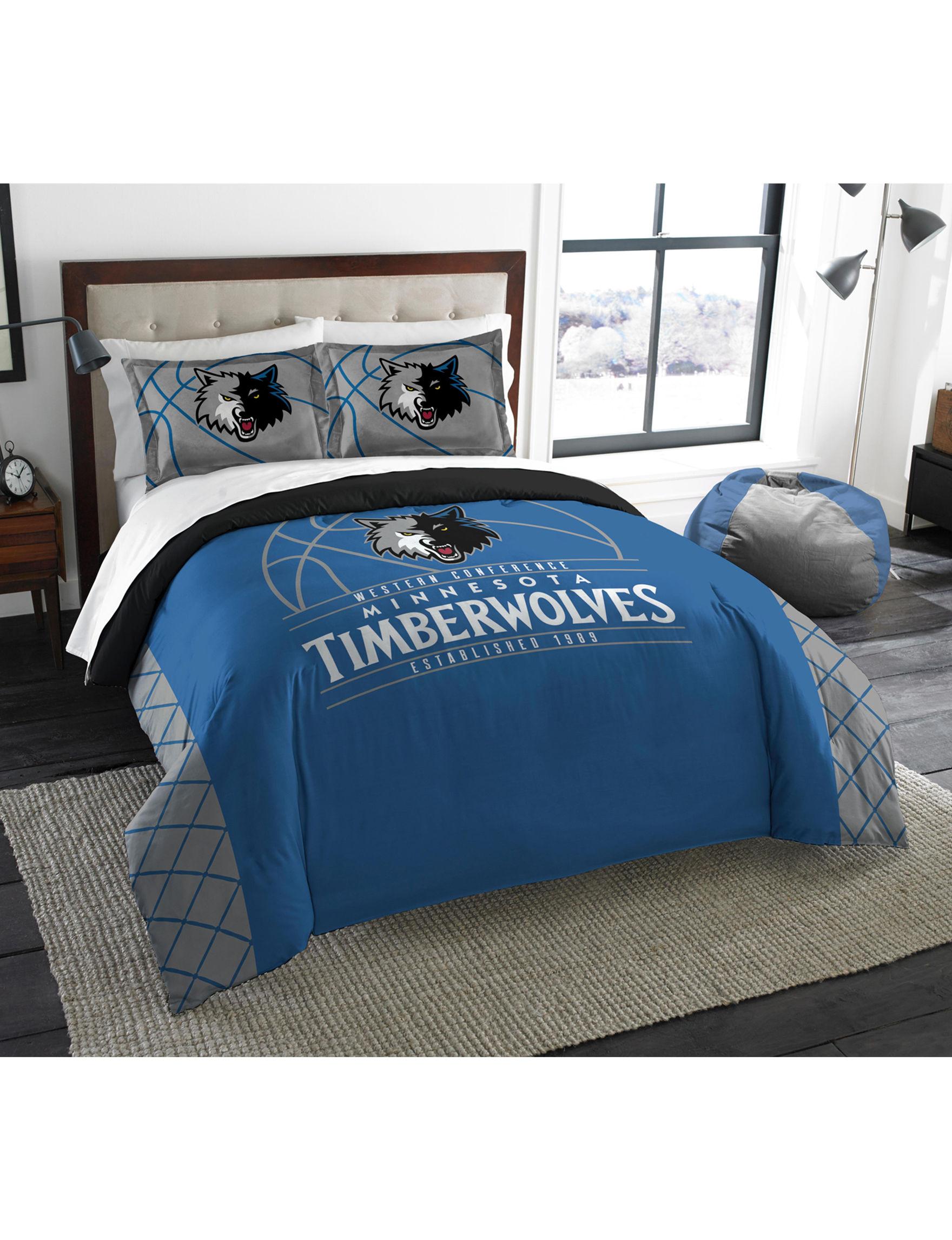 The Northwest Company Blue / Grey Comforters & Comforter Sets