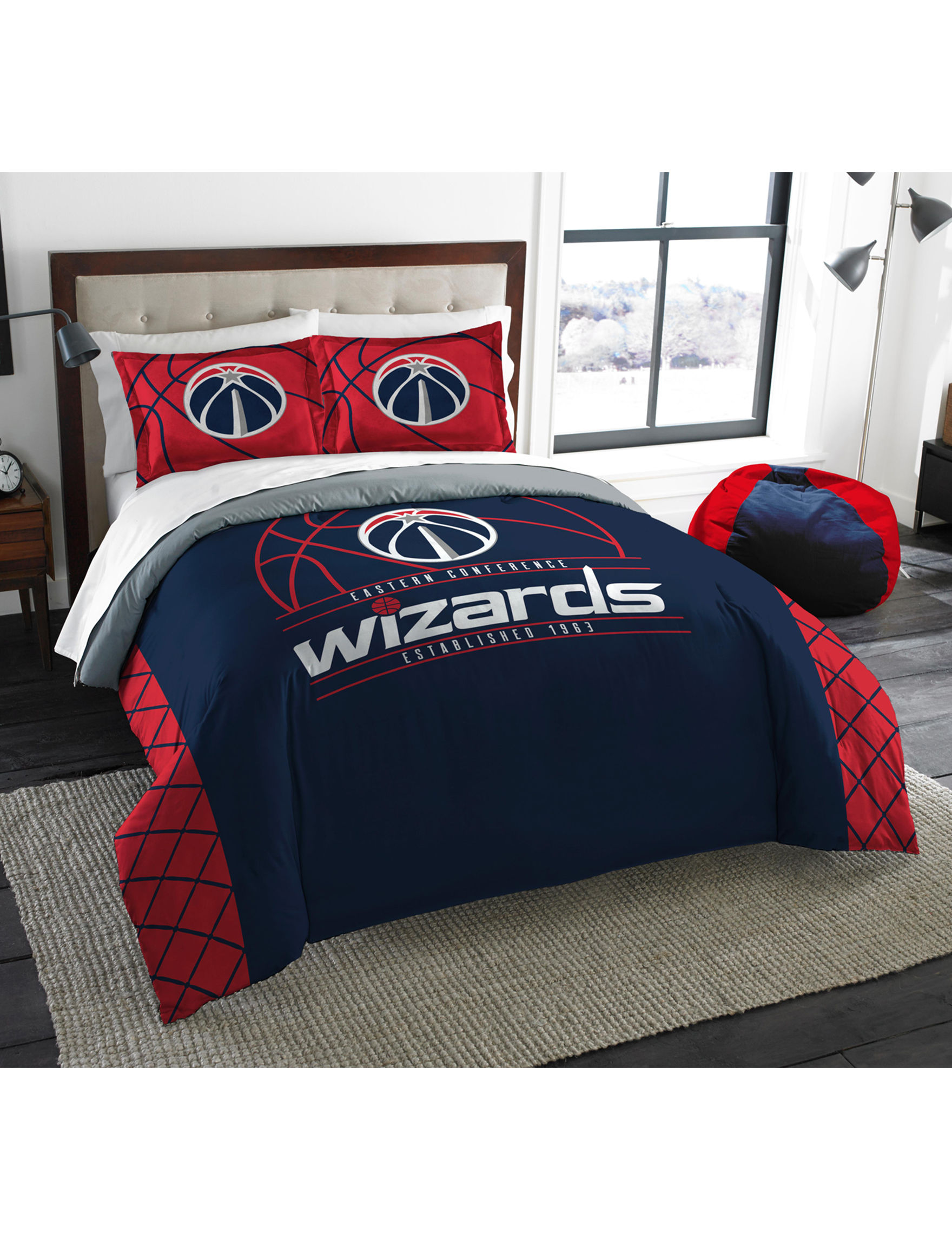 The Northwest Company Red / White / Blue Comforters & Comforter Sets NBA