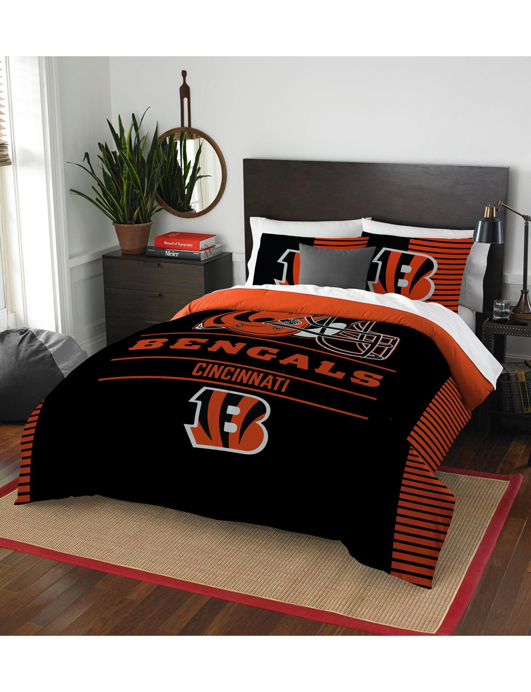 The Northwest Company Black / Orange Comforters & Comforter Sets