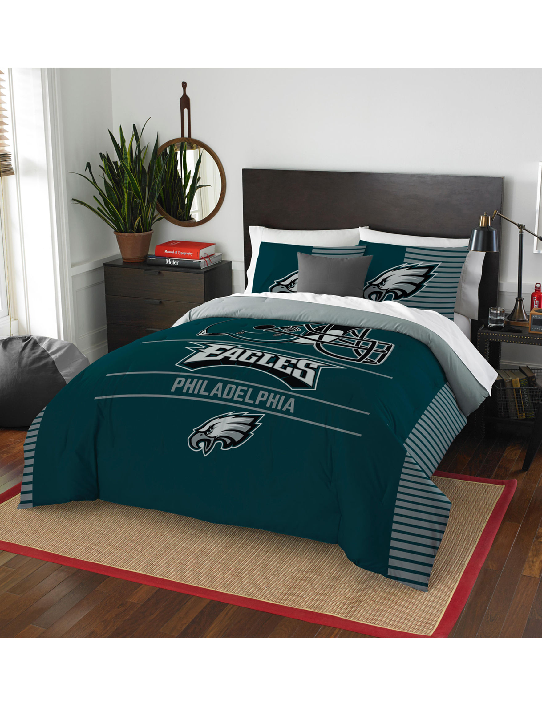 The Northwest Company Green / White Comforters & Comforter Sets