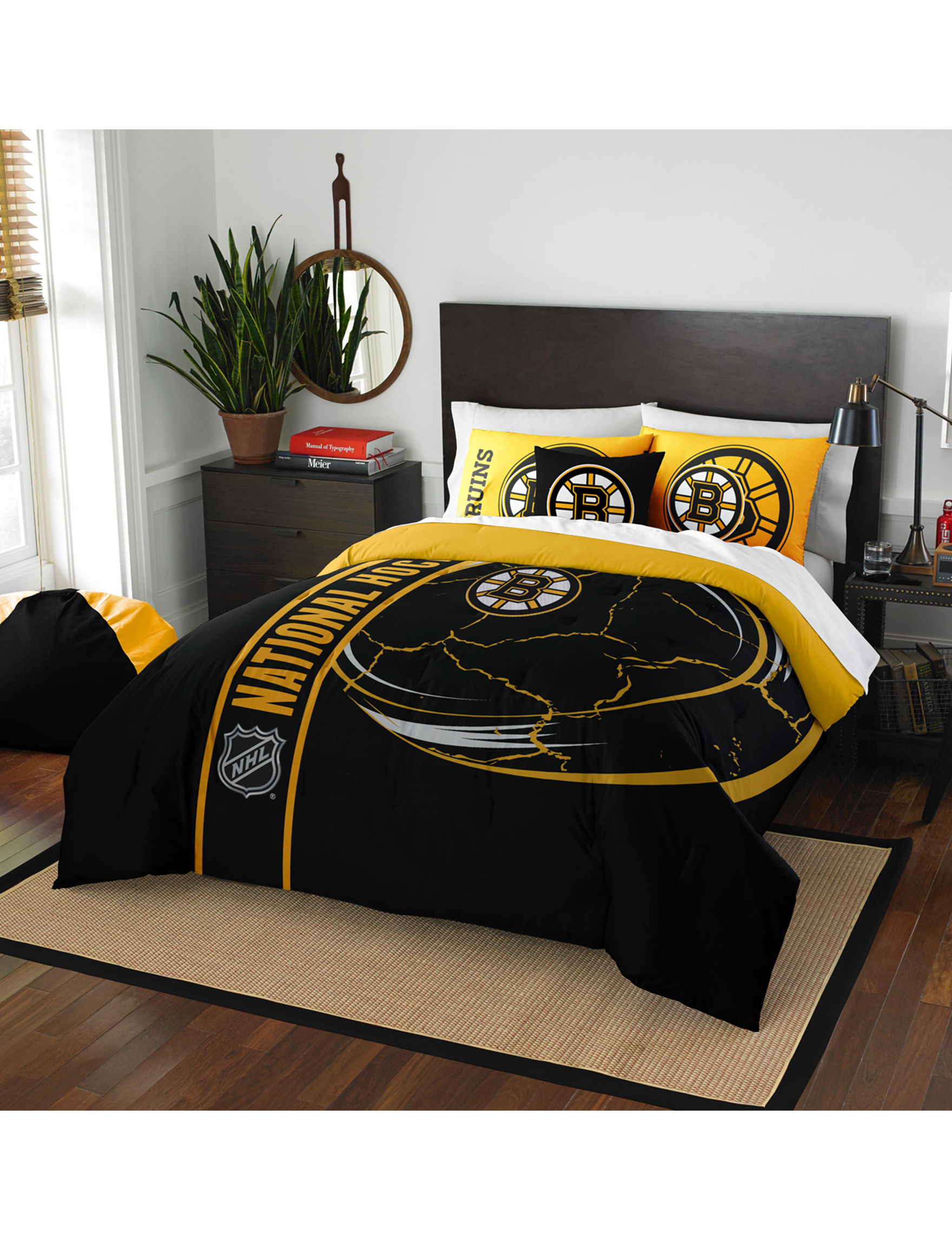 The Northwest Company Black / Yellow Comforters & Comforter Sets