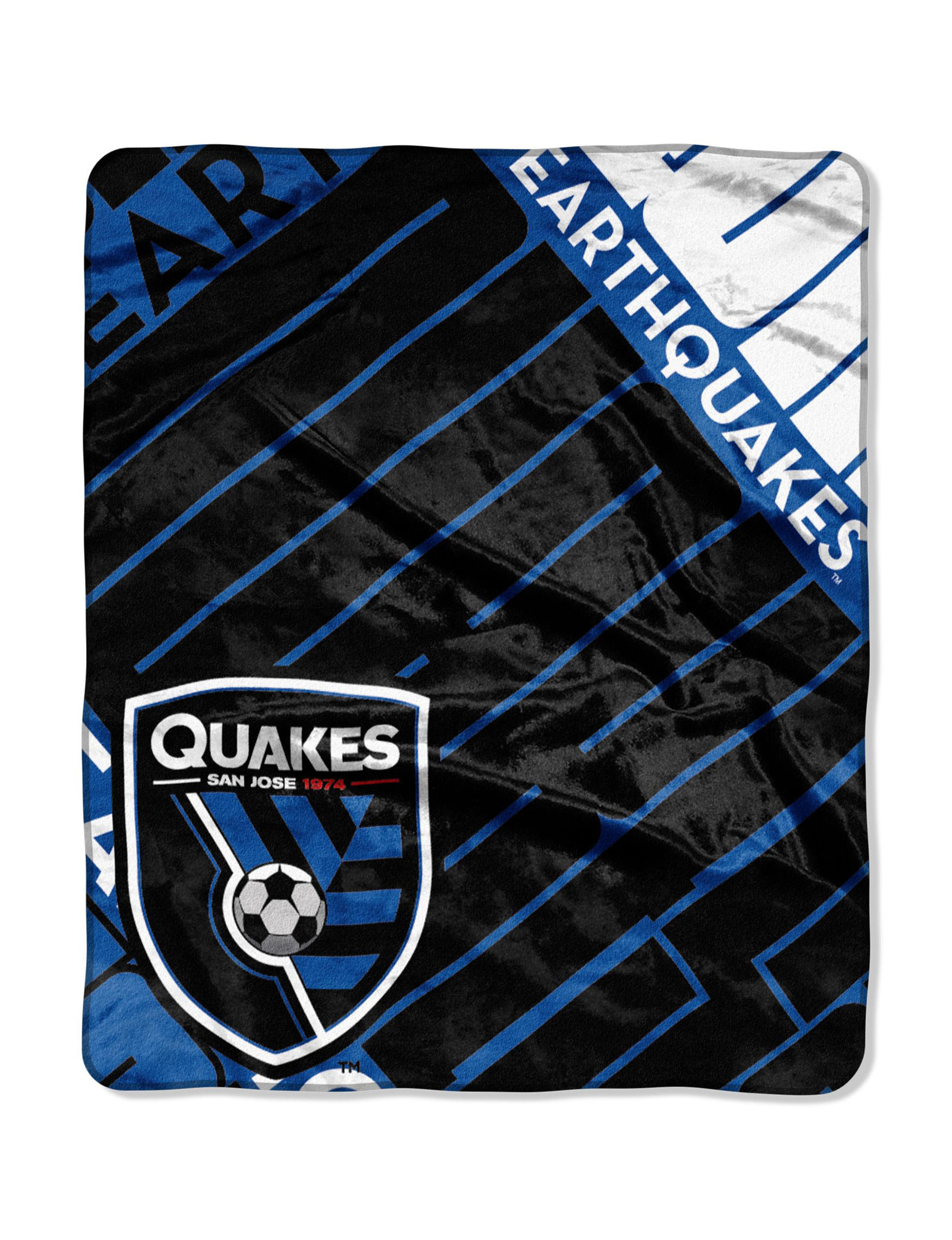 The Northwest Company Blue / Black Blankets & Throws