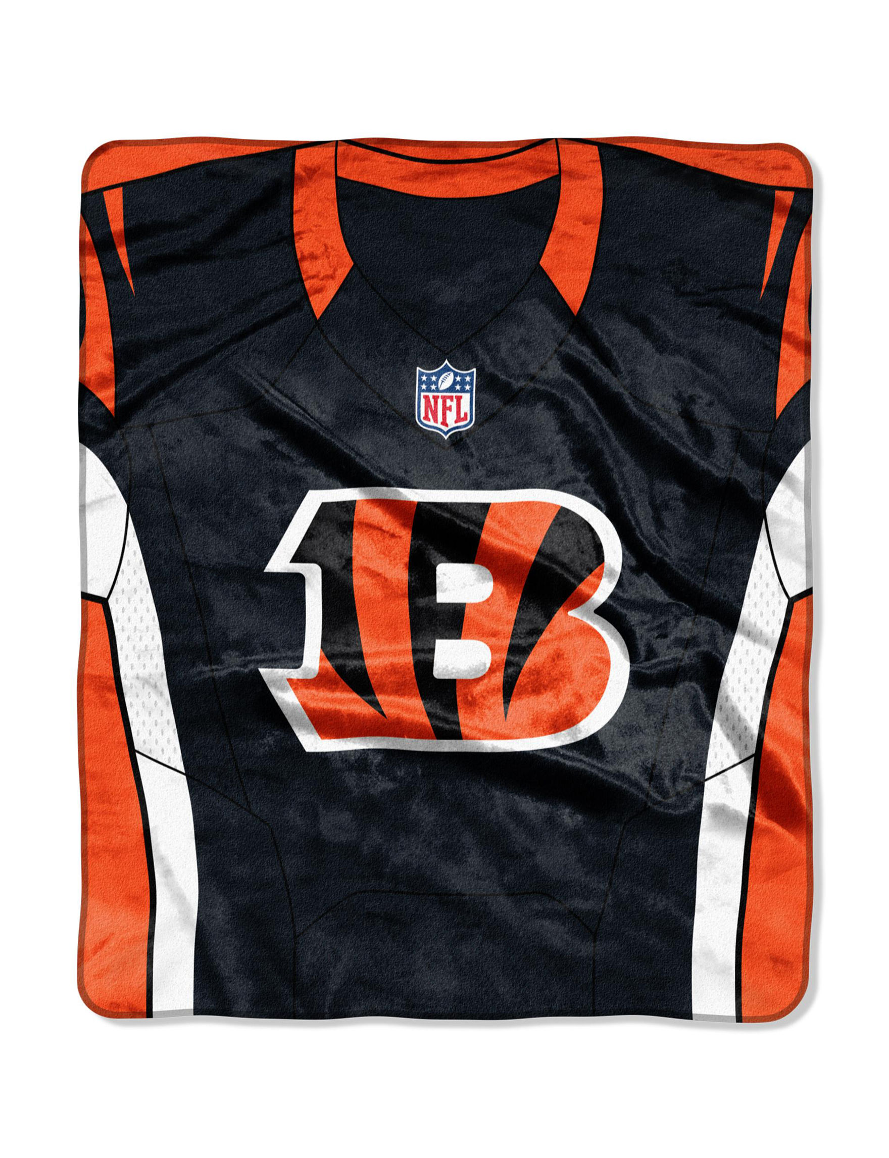 The Northwest Company Orange / Black Blankets & Throws