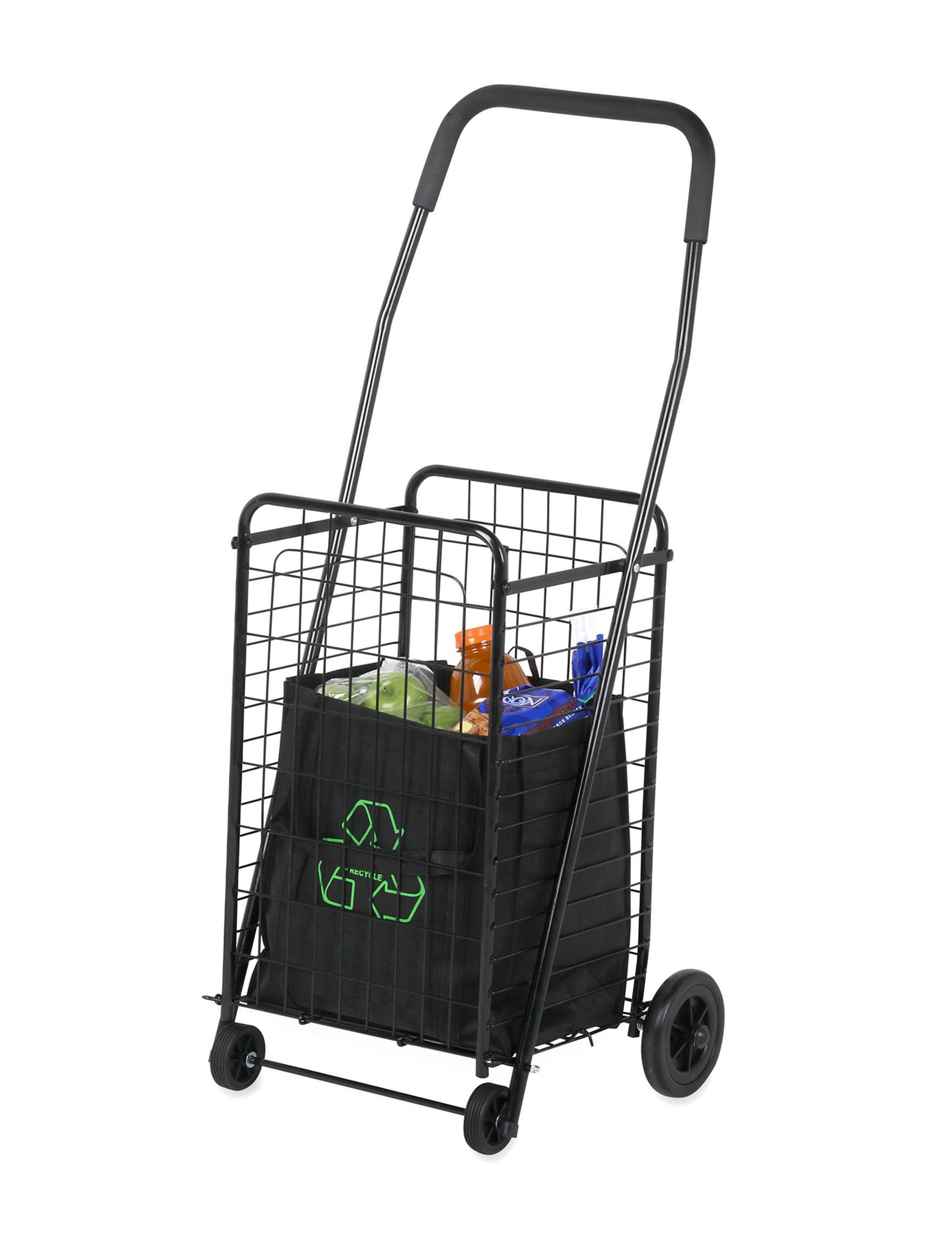 Honey-Can-Do International Black Carts & Drawers Storage & Organization