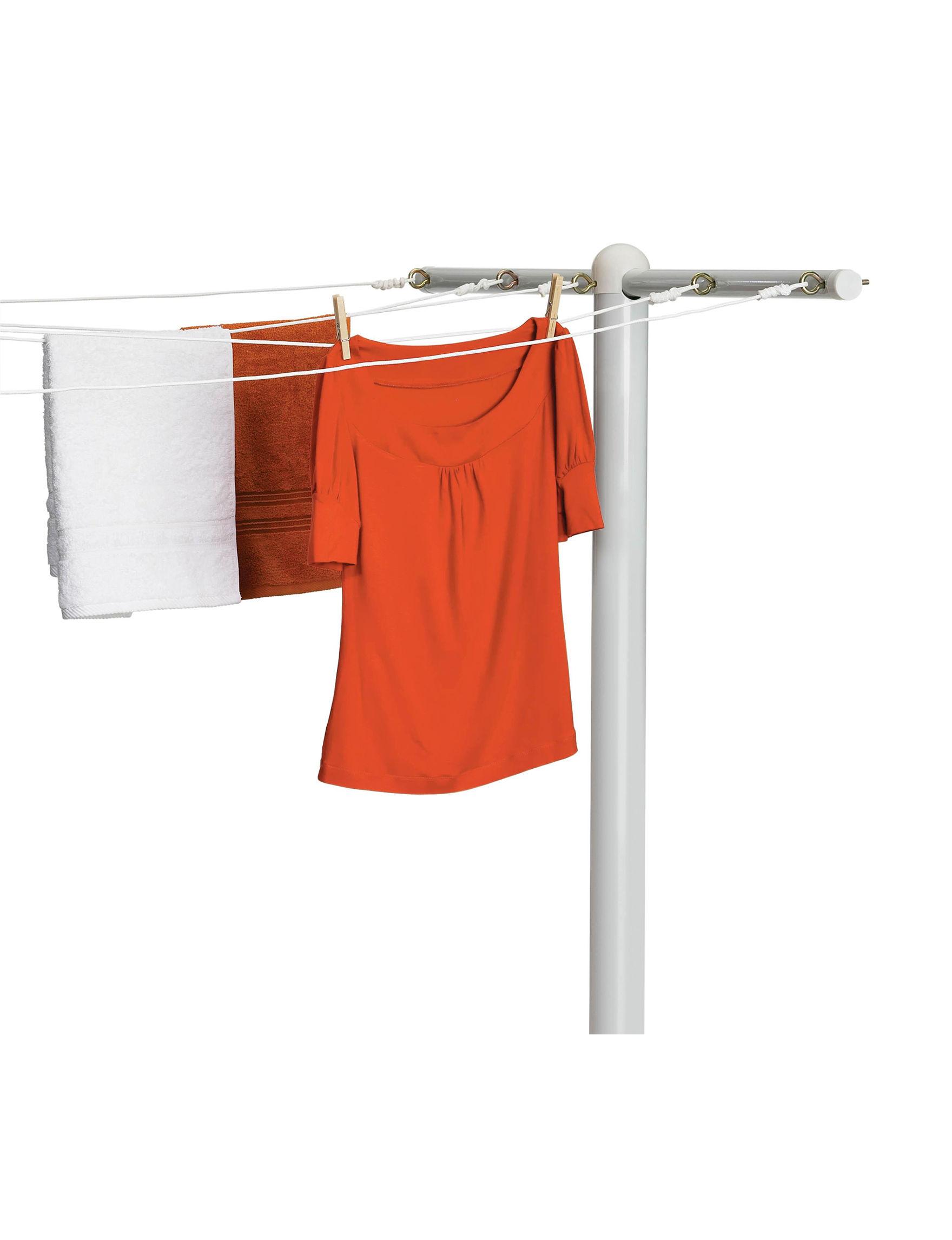Honey-Can-Do International White Garment & Drying Racks