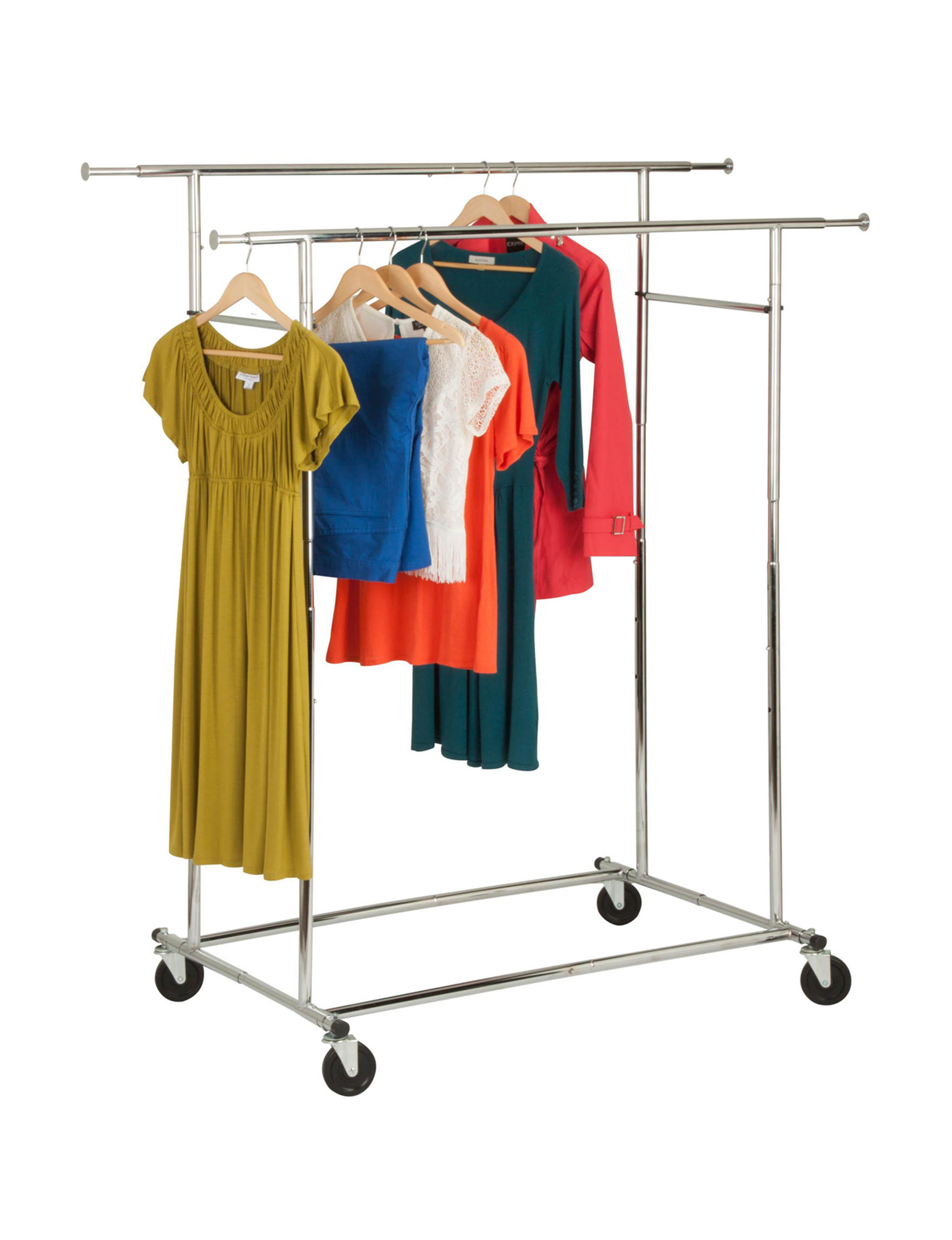 Honey-Can-Do International Chrome Garment & Drying Racks