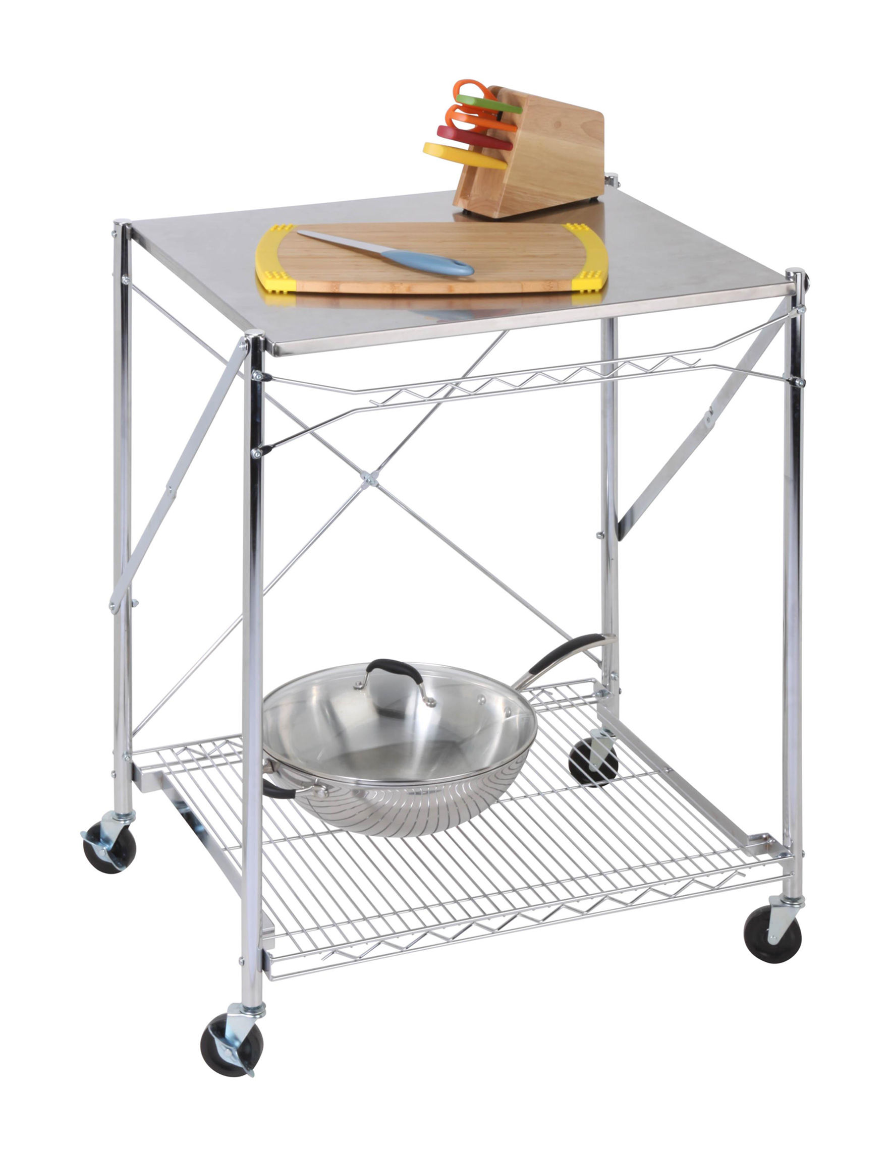 Honey-Can-Do International Grey Carts & Drawers Storage & Organization