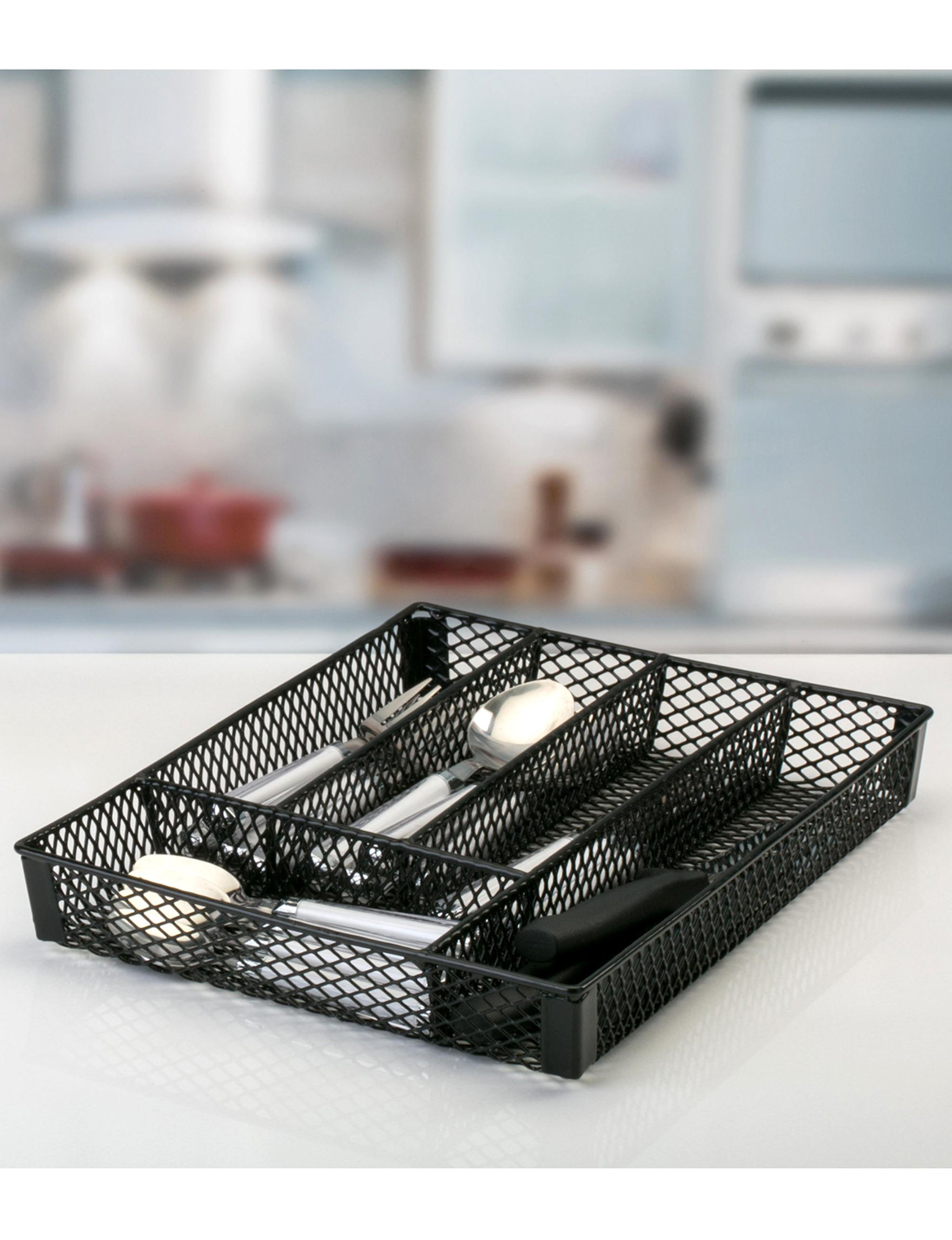 Simplify Black Kitchen Storage & Organization