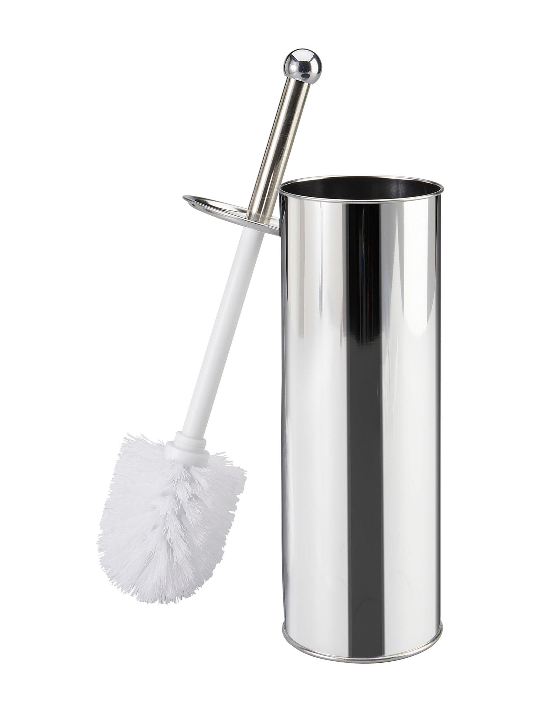 Bath Bliss Silver Bath Accessories