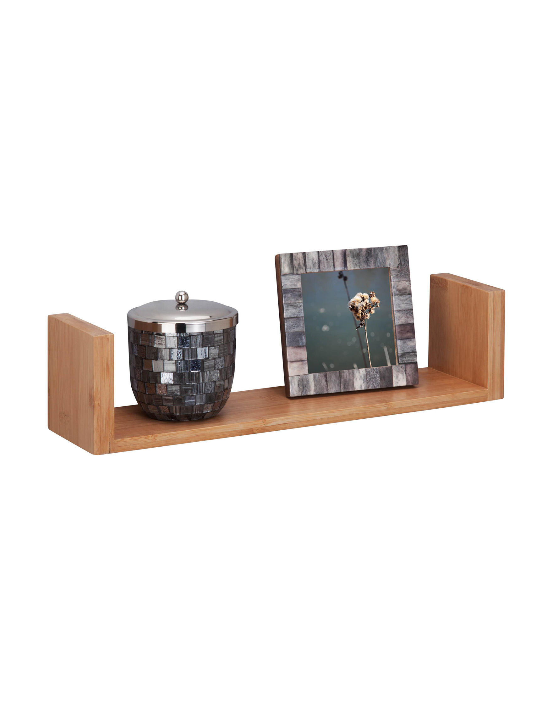 Honey-Can-Do International Natural Storage Shelves Storage & Organization
