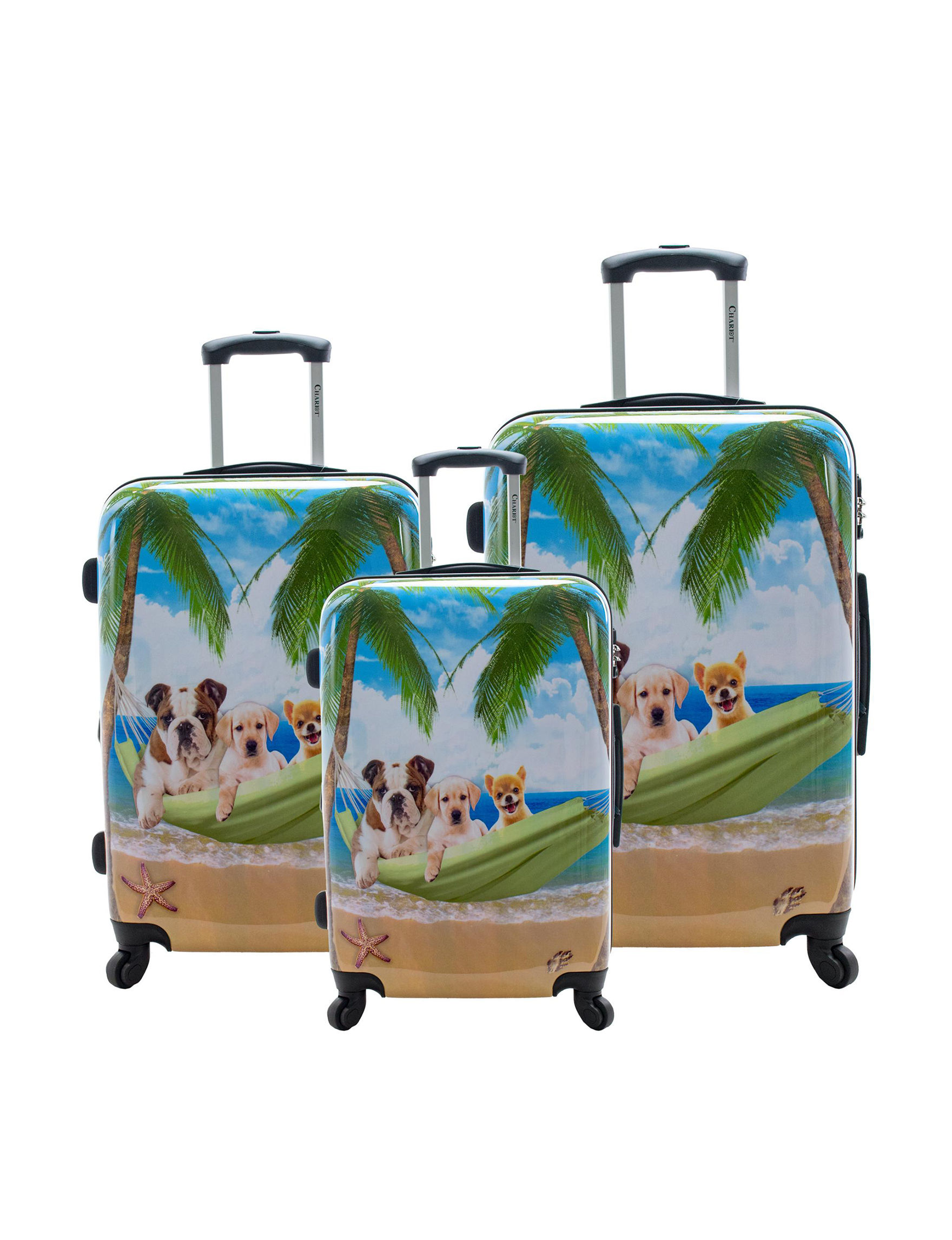 Chariot Travelware Blue / Multi Luggage Sets