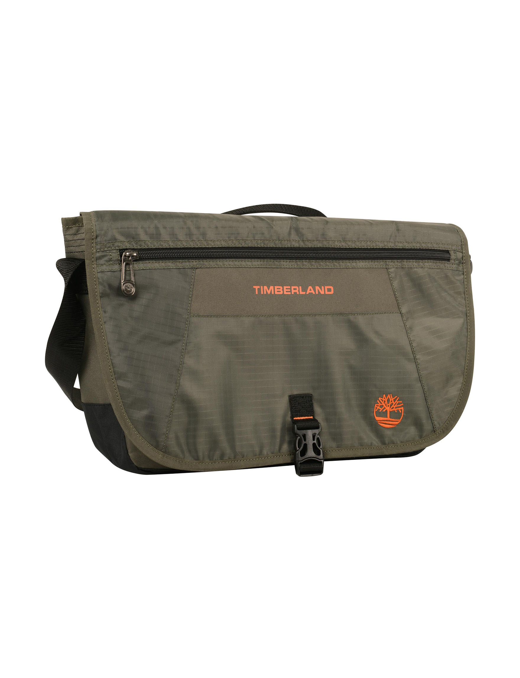 Timberland Olive Carry On Luggage Laptop & Messenger Bags