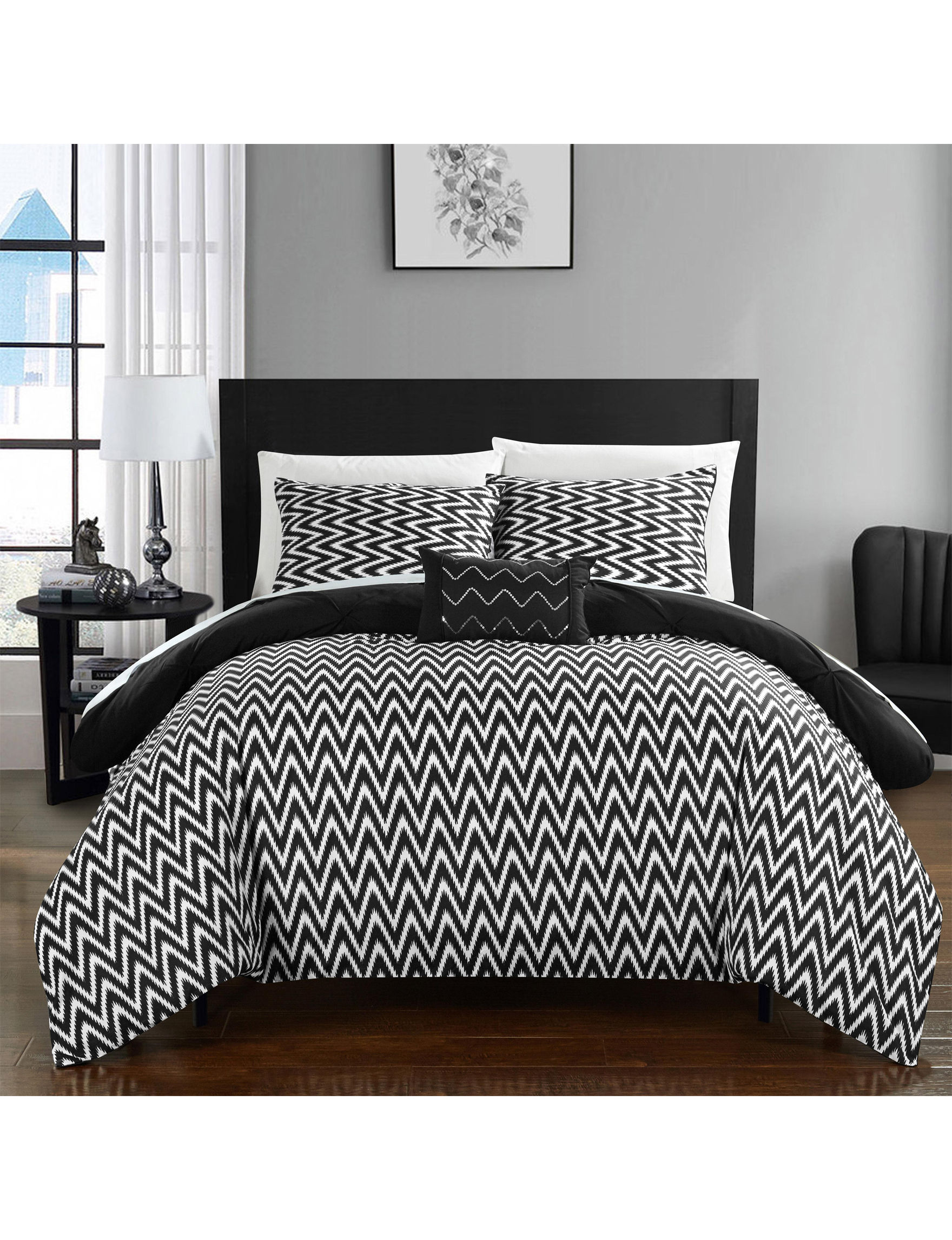 Chic Home Design Black Comforters & Comforter Sets