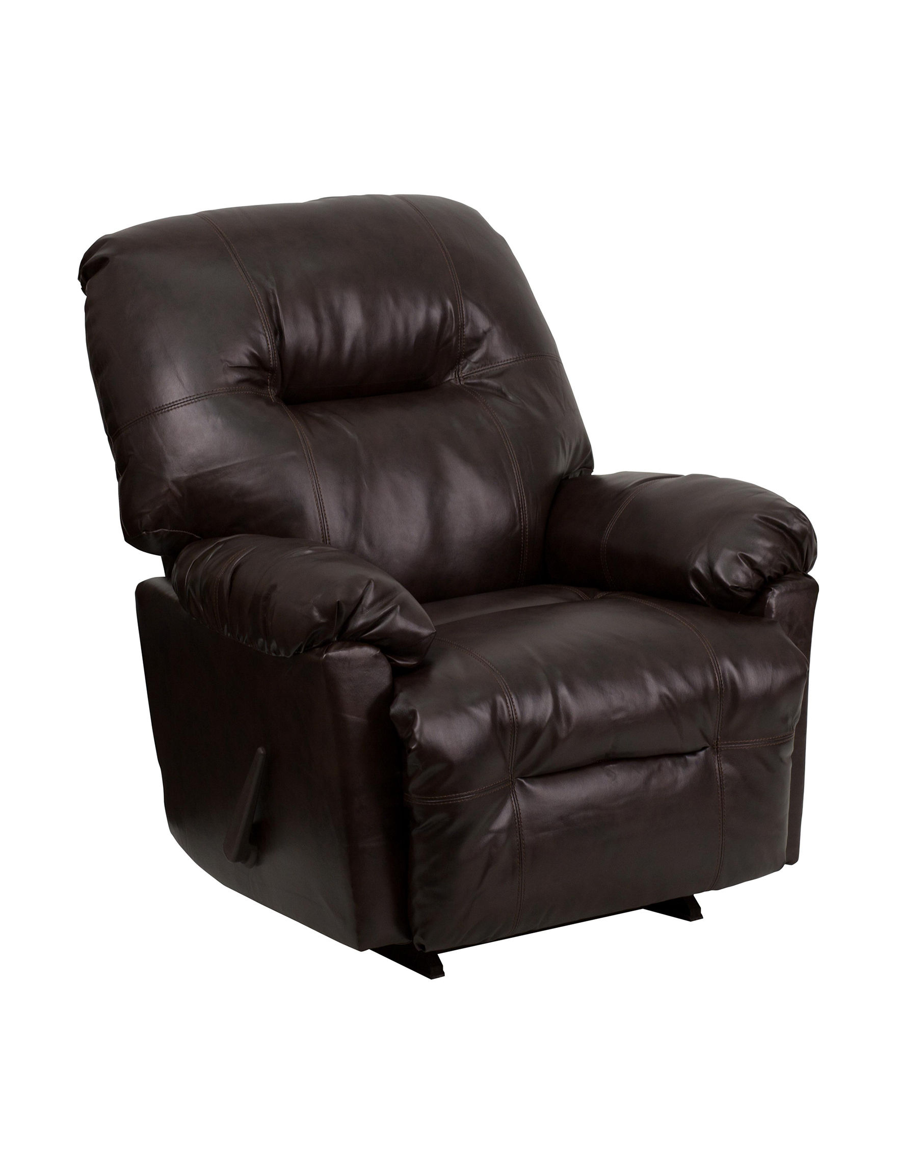 Flash Furniture Brown Accent Chairs Living Room Furniture