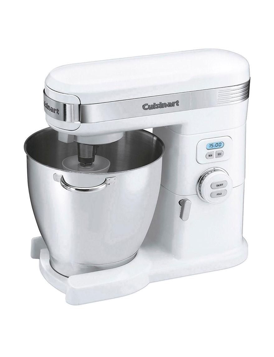 Cuisinart White Mixers & Attachments Kitchen Appliances Prep & Tools