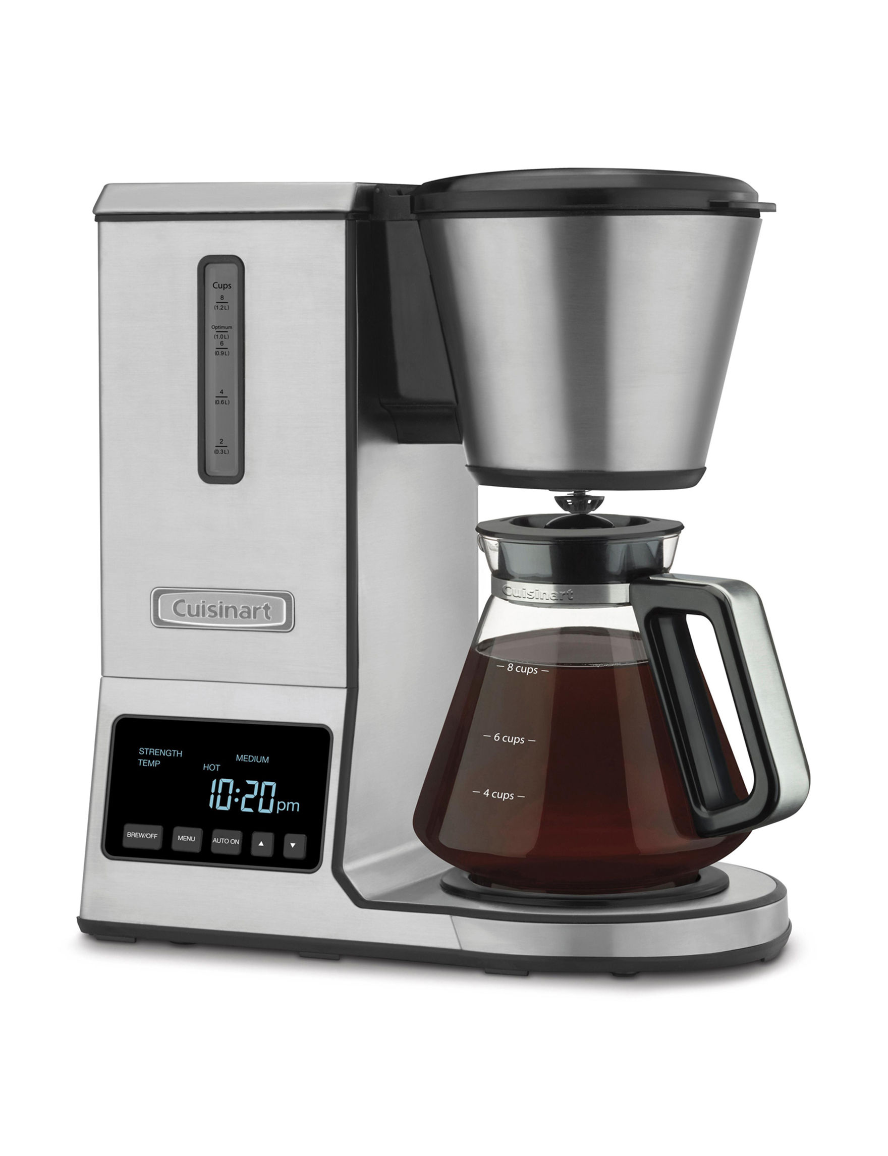 Cuisinart Stainless Steel Coffee, Espresso & Tea Makers Kitchen Appliances