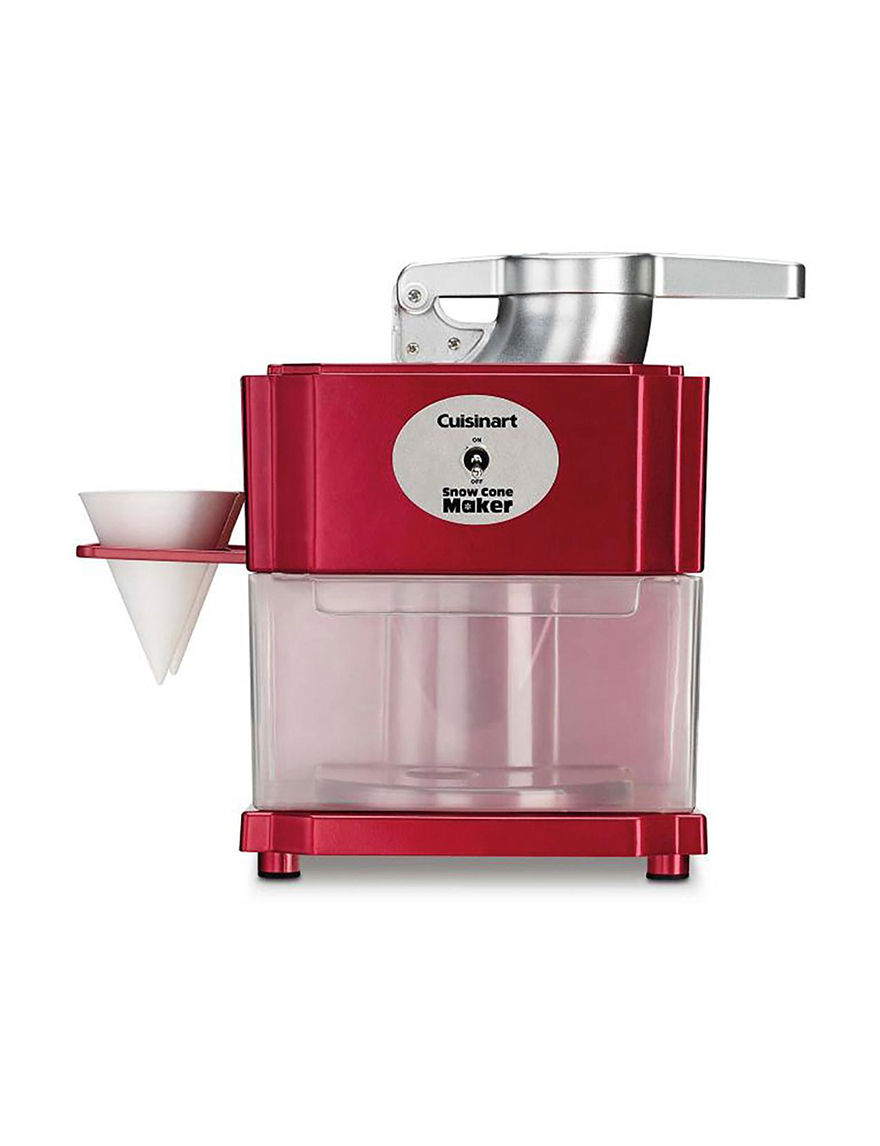 Cuisinart Red Specialty Food Makers Kitchen Appliances