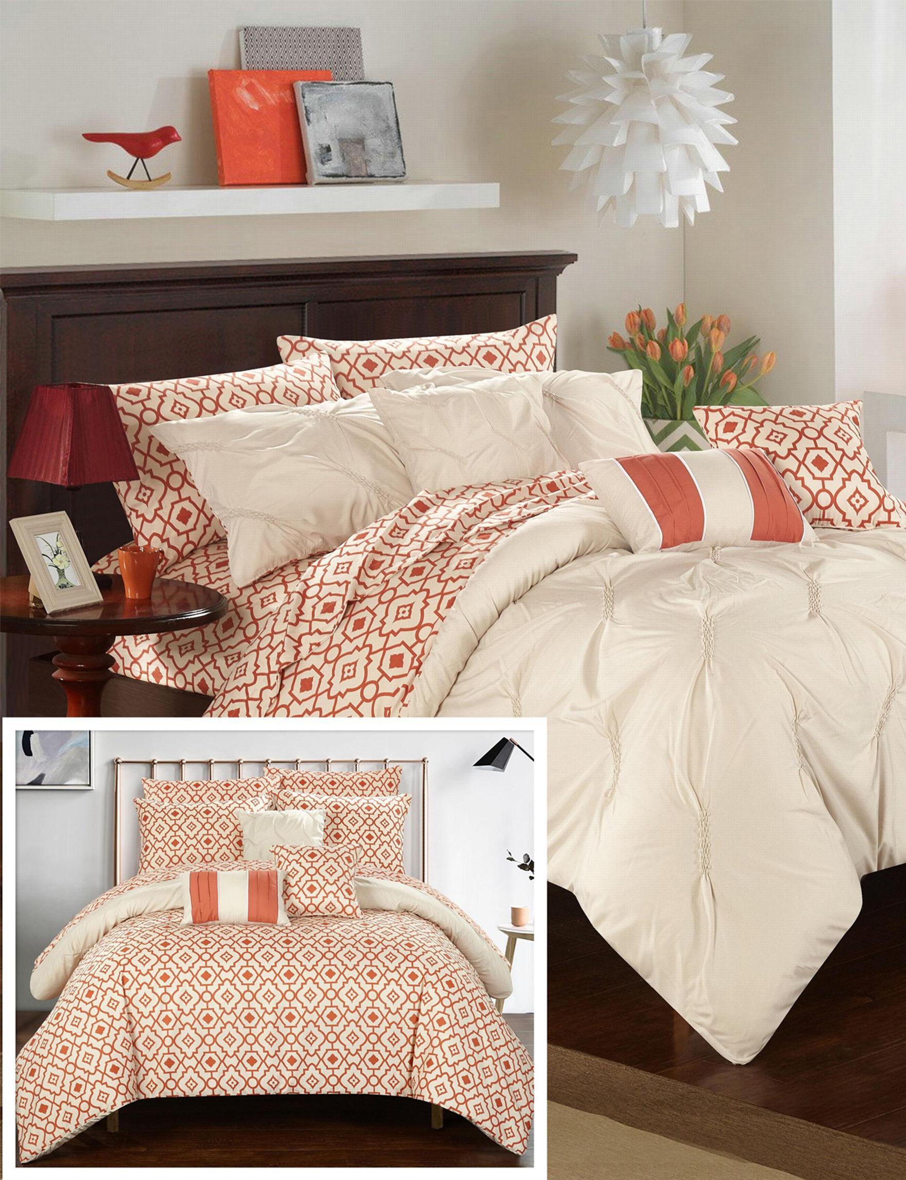 Chic Home Design Beige Comforters & Comforter Sets