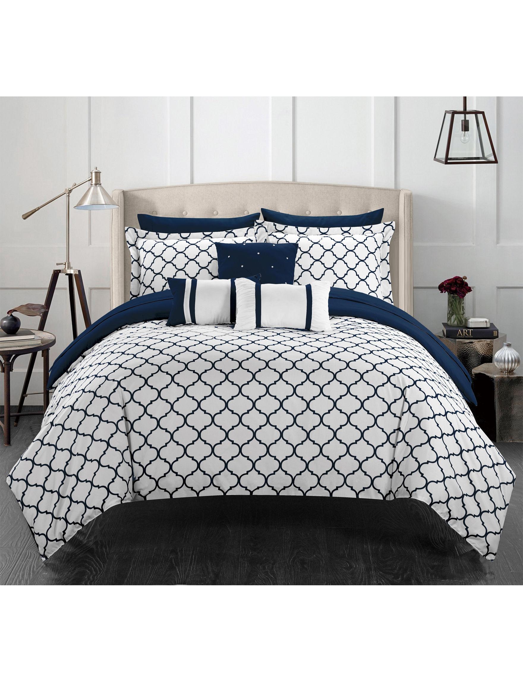 Chic Home Design Navy Comforters & Comforter Sets
