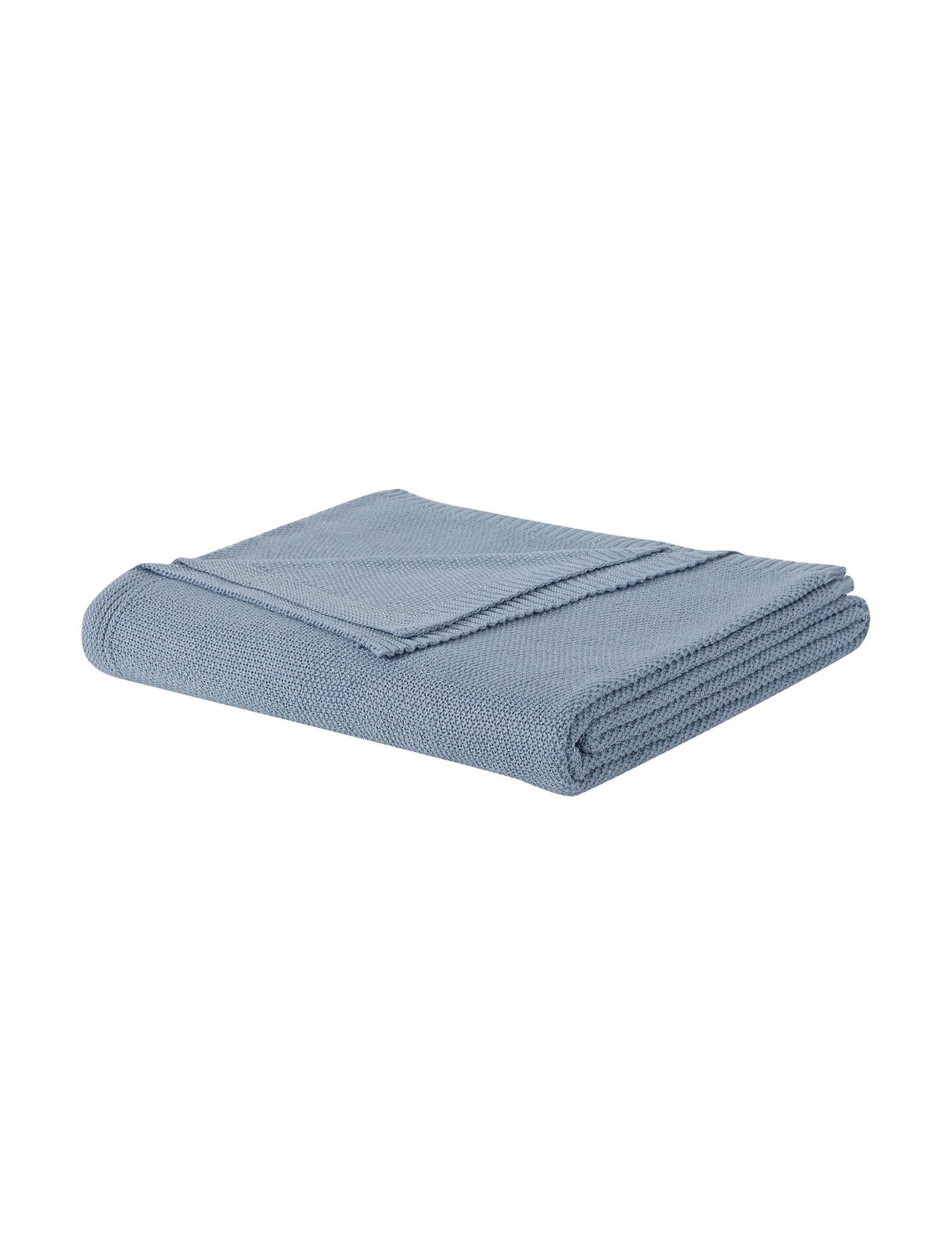 Laura Ashley Blue Blankets & Throws